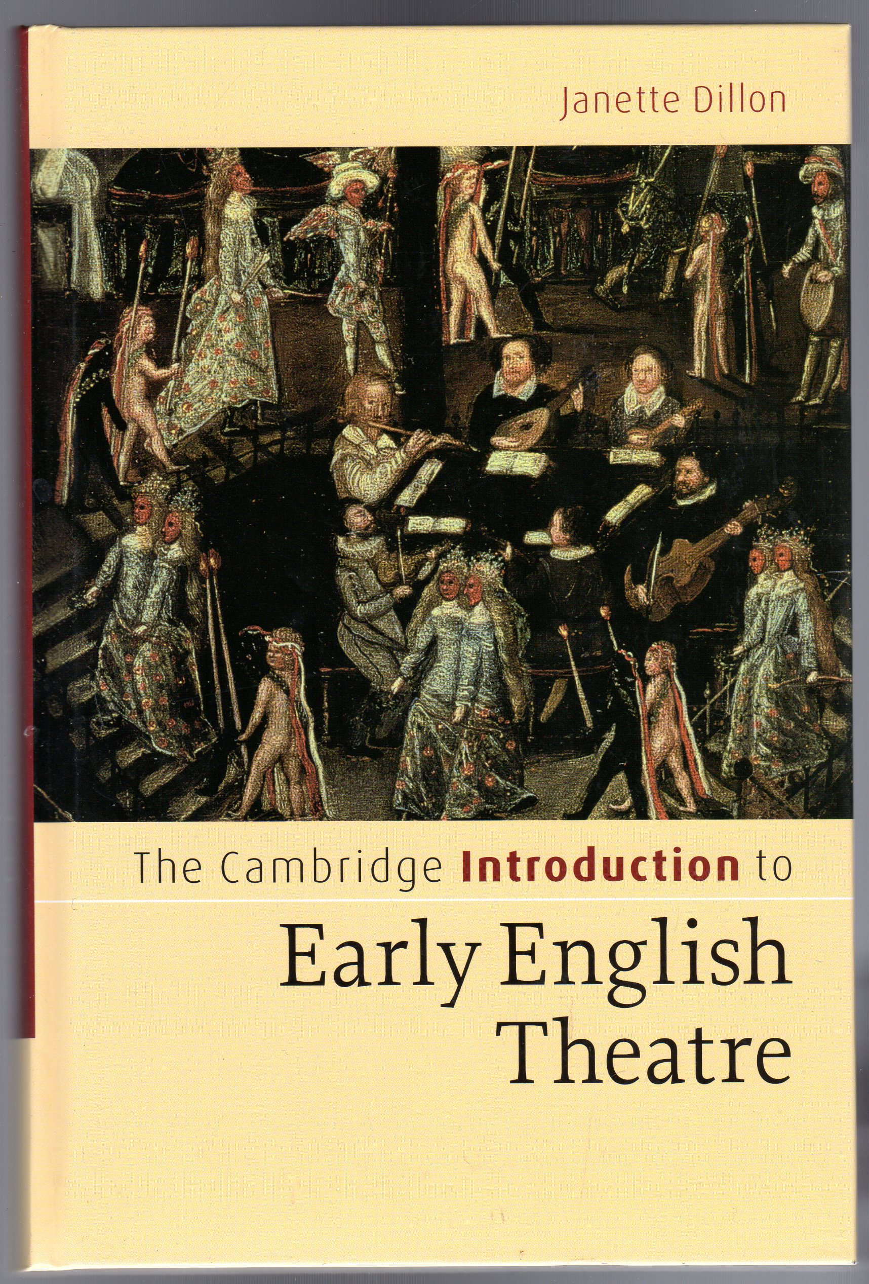 Image for The Cambridge Introduction to Early English Theatre