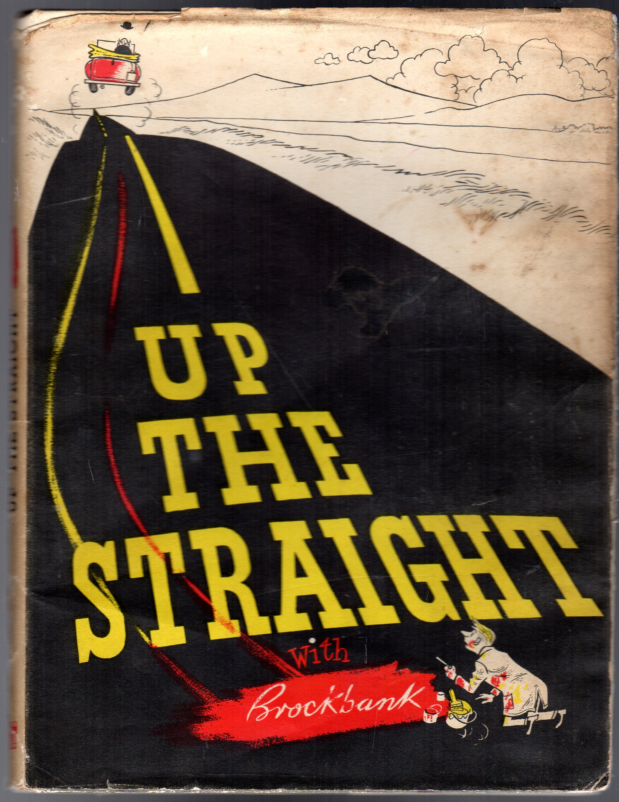 Image for Up The Straight With Brockbank