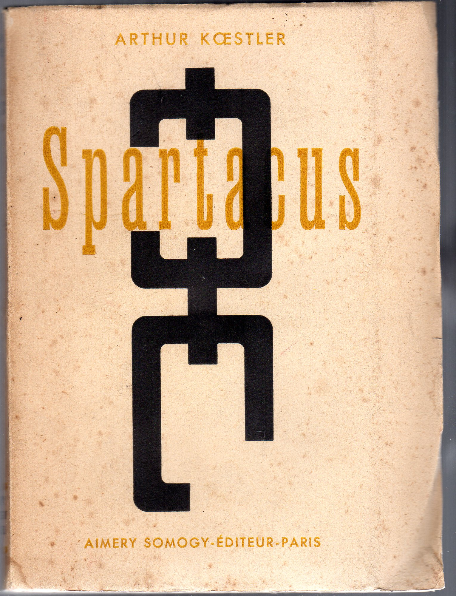 Image for Spartacus (French text)