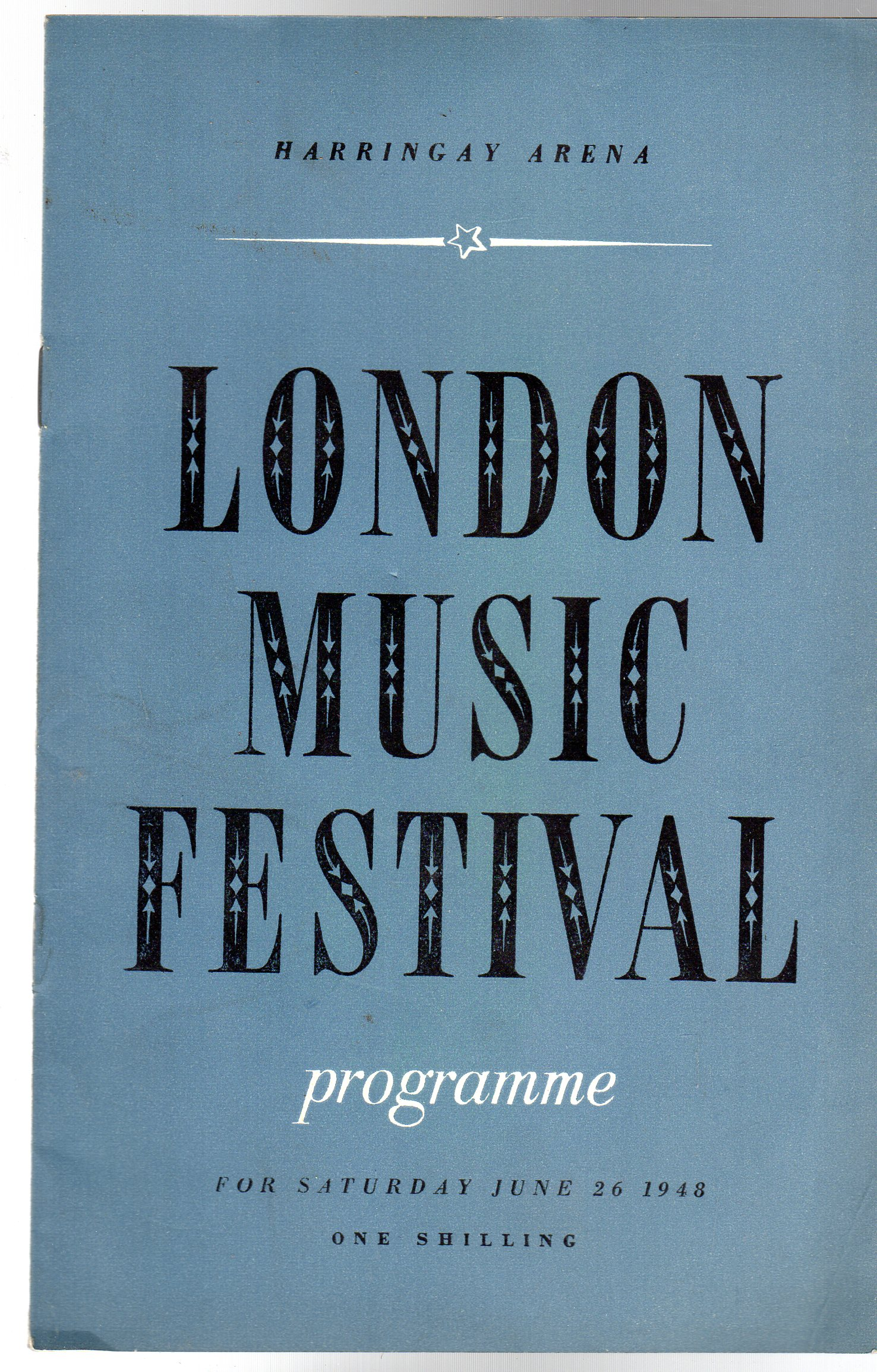 Image for The London Music Festival (PROGRAMME)