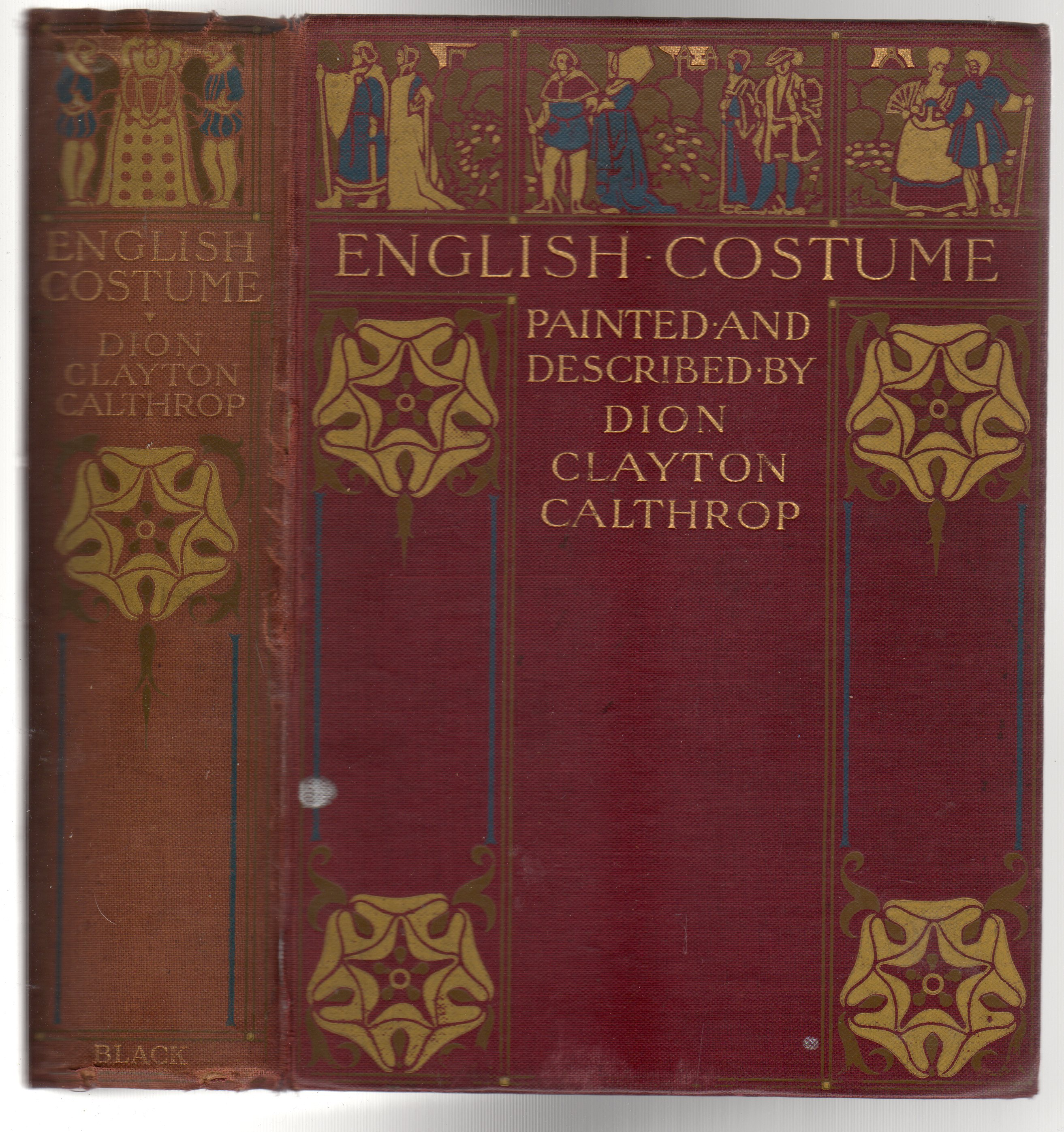 Image for English Costume Painted & Described
