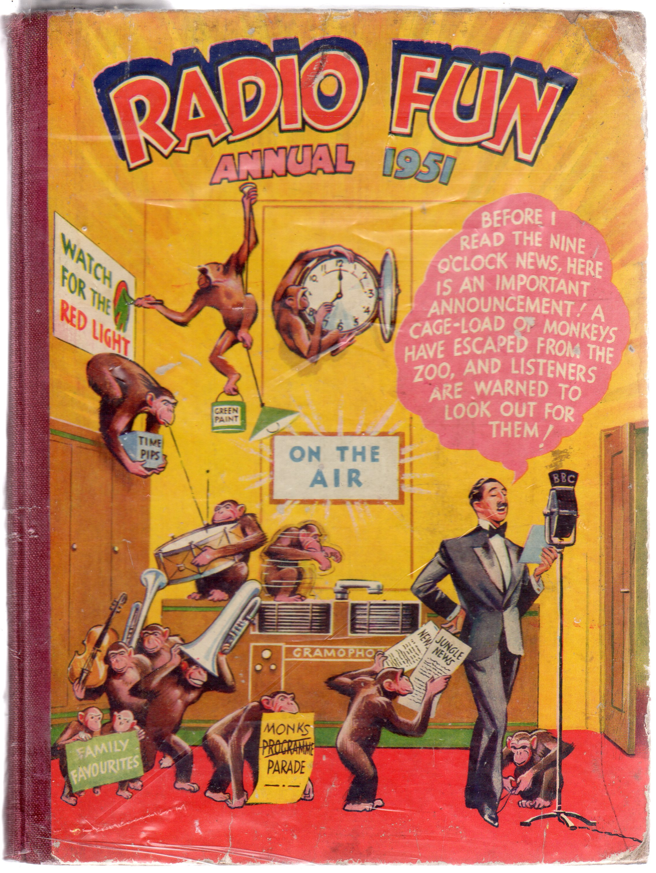 Image for Radio Fun Annual 1951