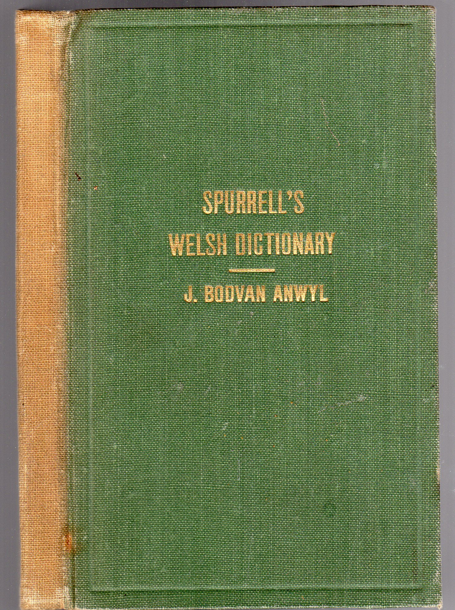 Image for Spurrell's Schools' Dictionary: Welsh-English & English-Welsh