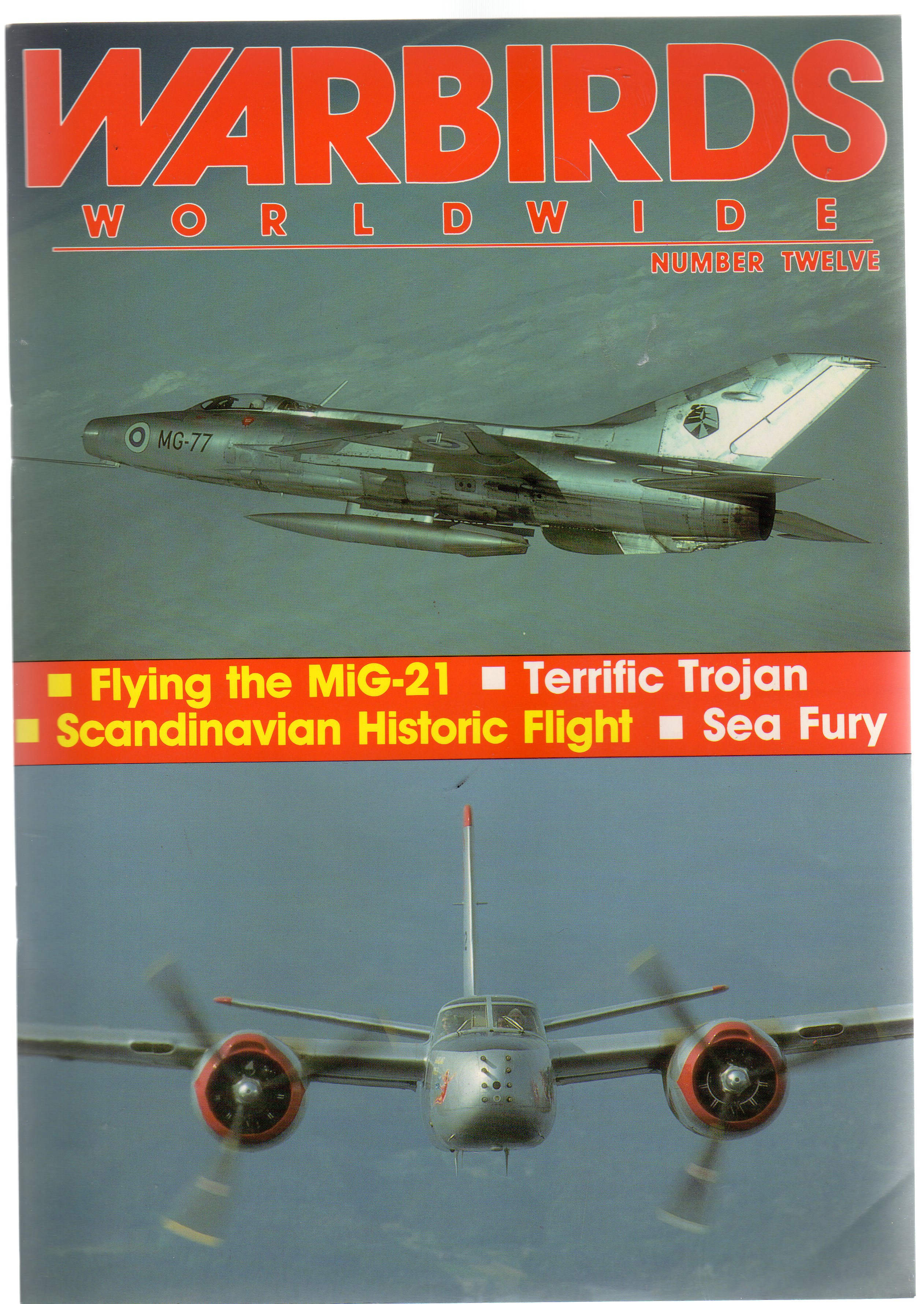 Image for Warbirds Worldwide: No 12