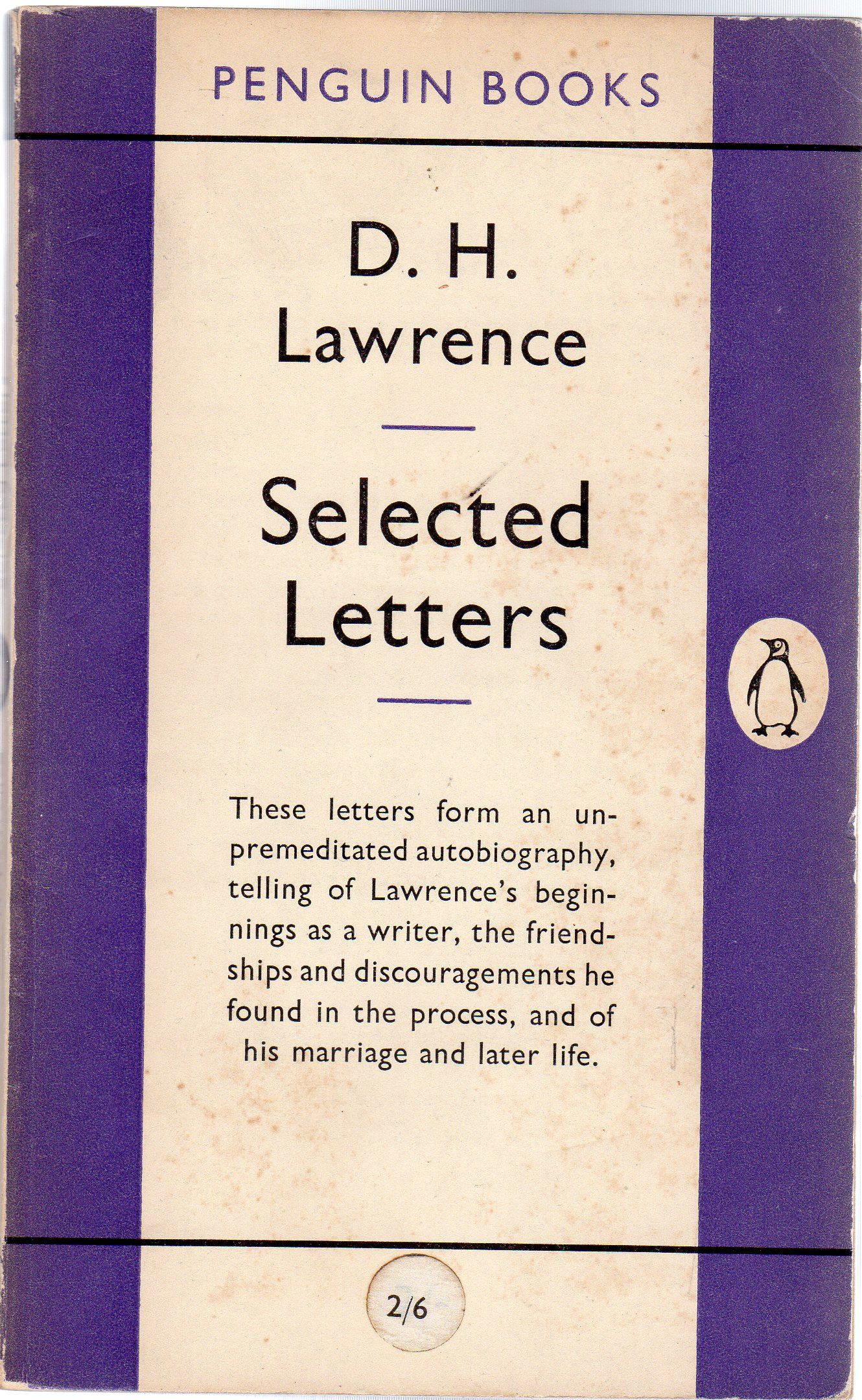 Image for Selected Letters
