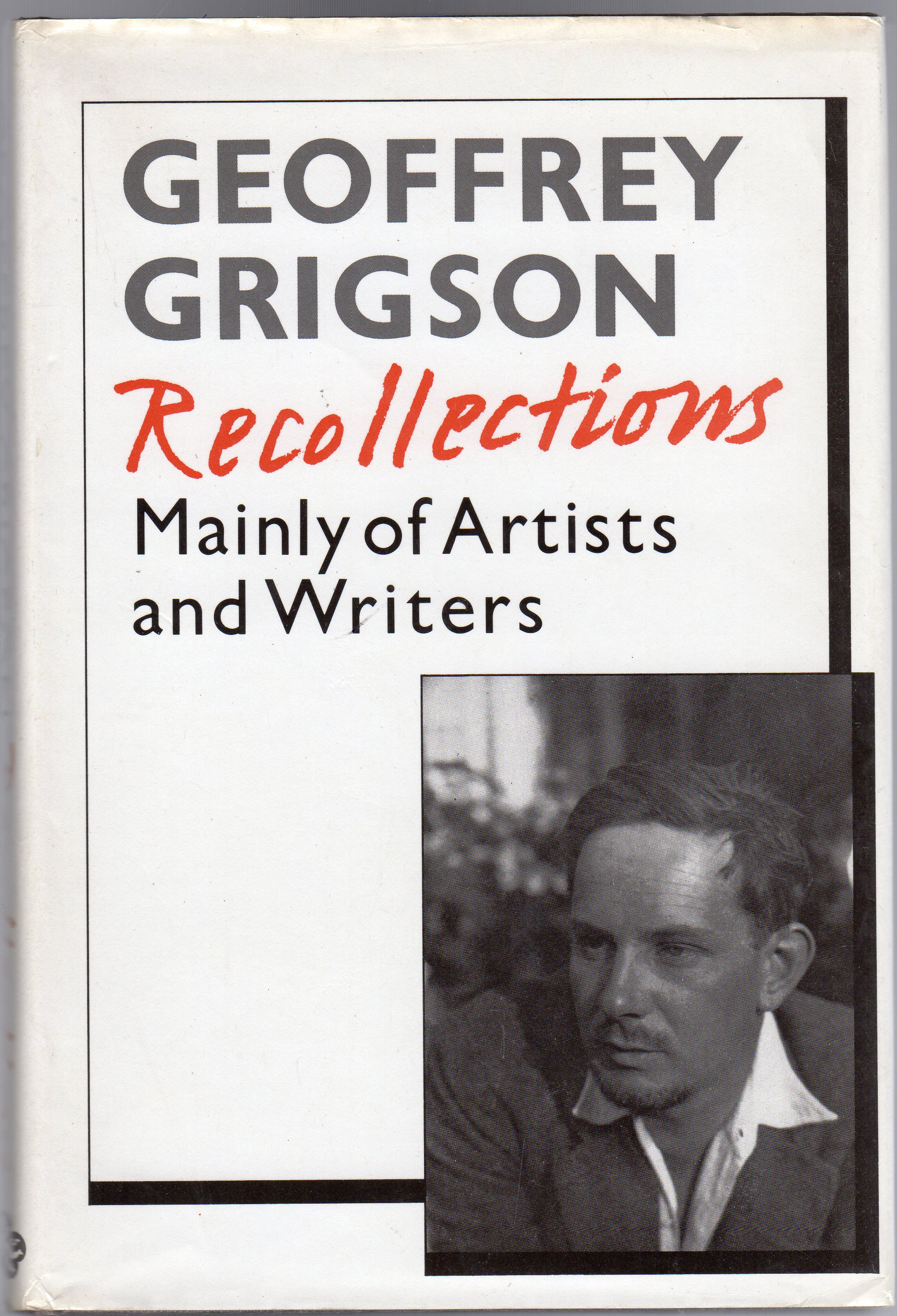 Image for Recollections: Chiefly of Writers and Artists