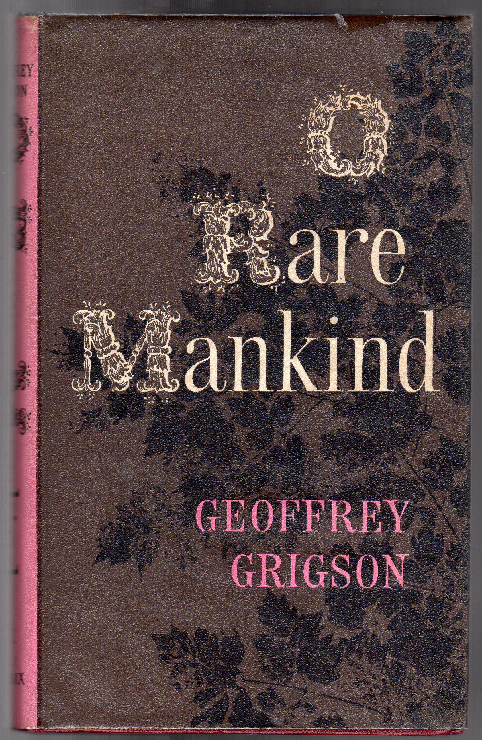 Image for O Rare Mankind !