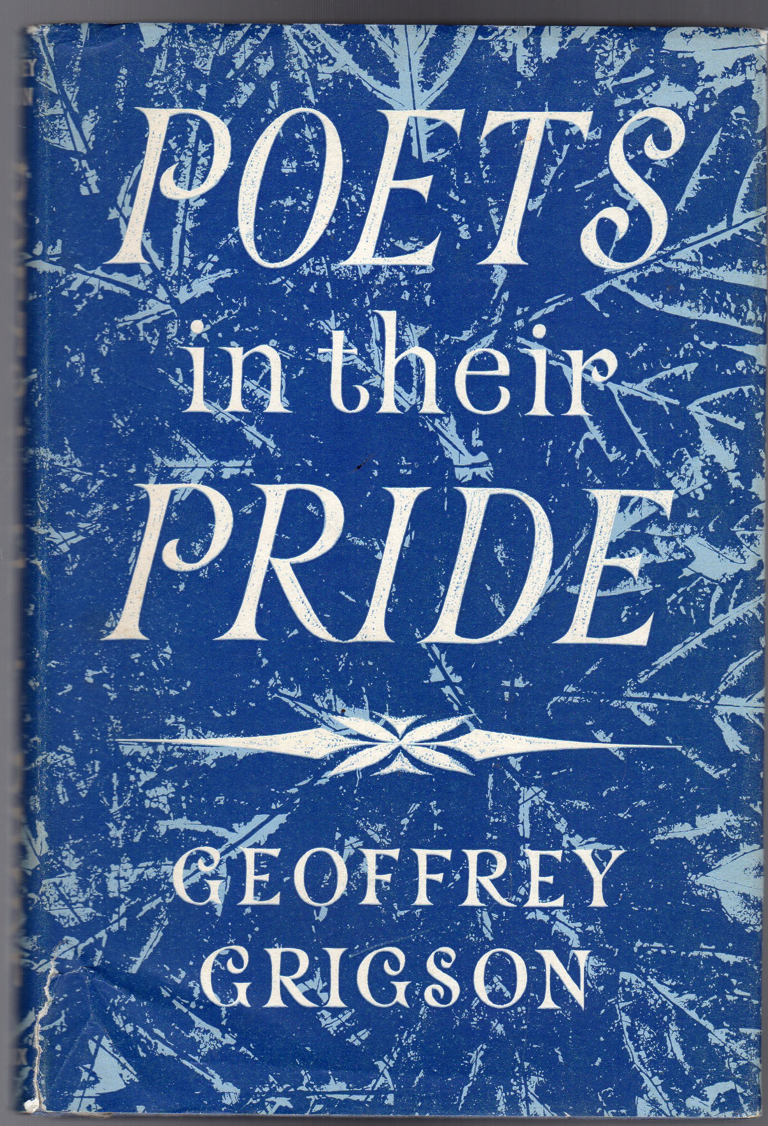 Image for Poets in their Pride