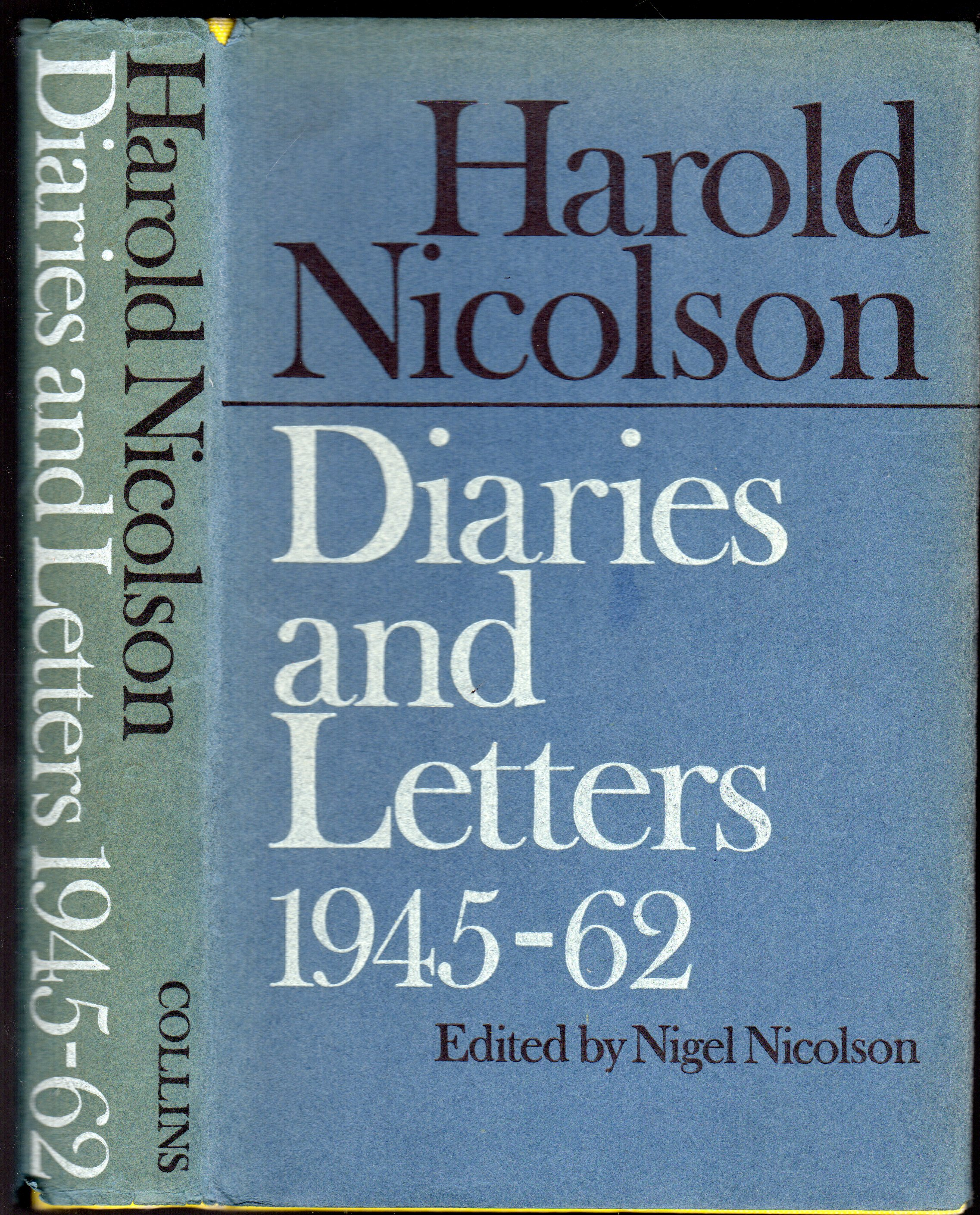 Image for Harold Nicolson : Diaries and Letters 1945 - 1962