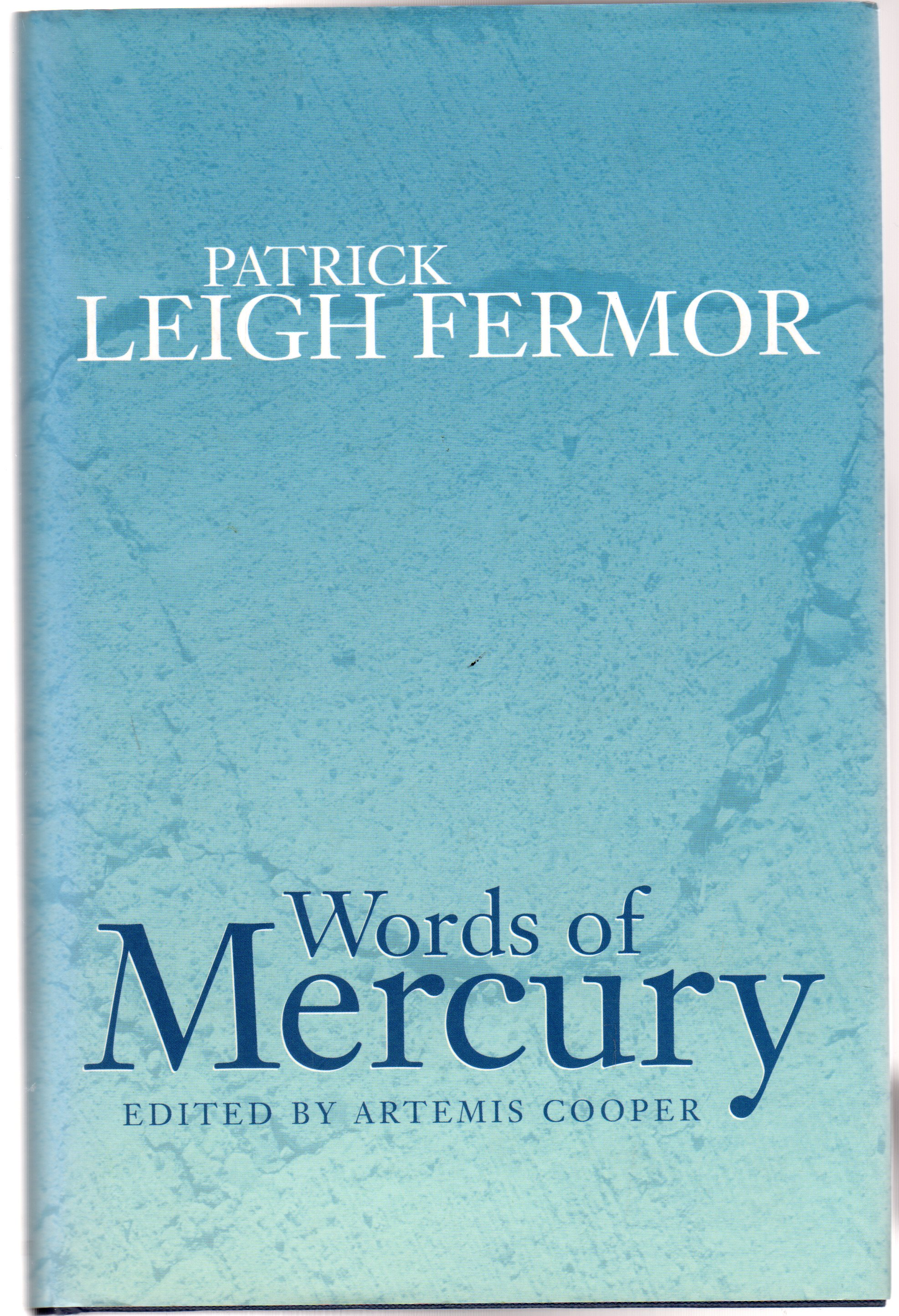 Image for Words of Mercury - SIGNED COPY
