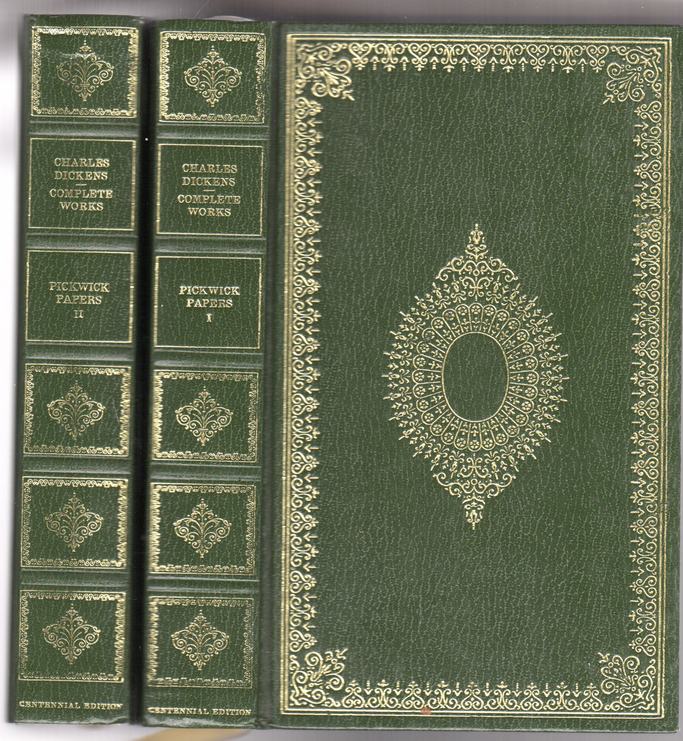 Image for The Posthumous Papers of the Pickwick Club Vols I & II