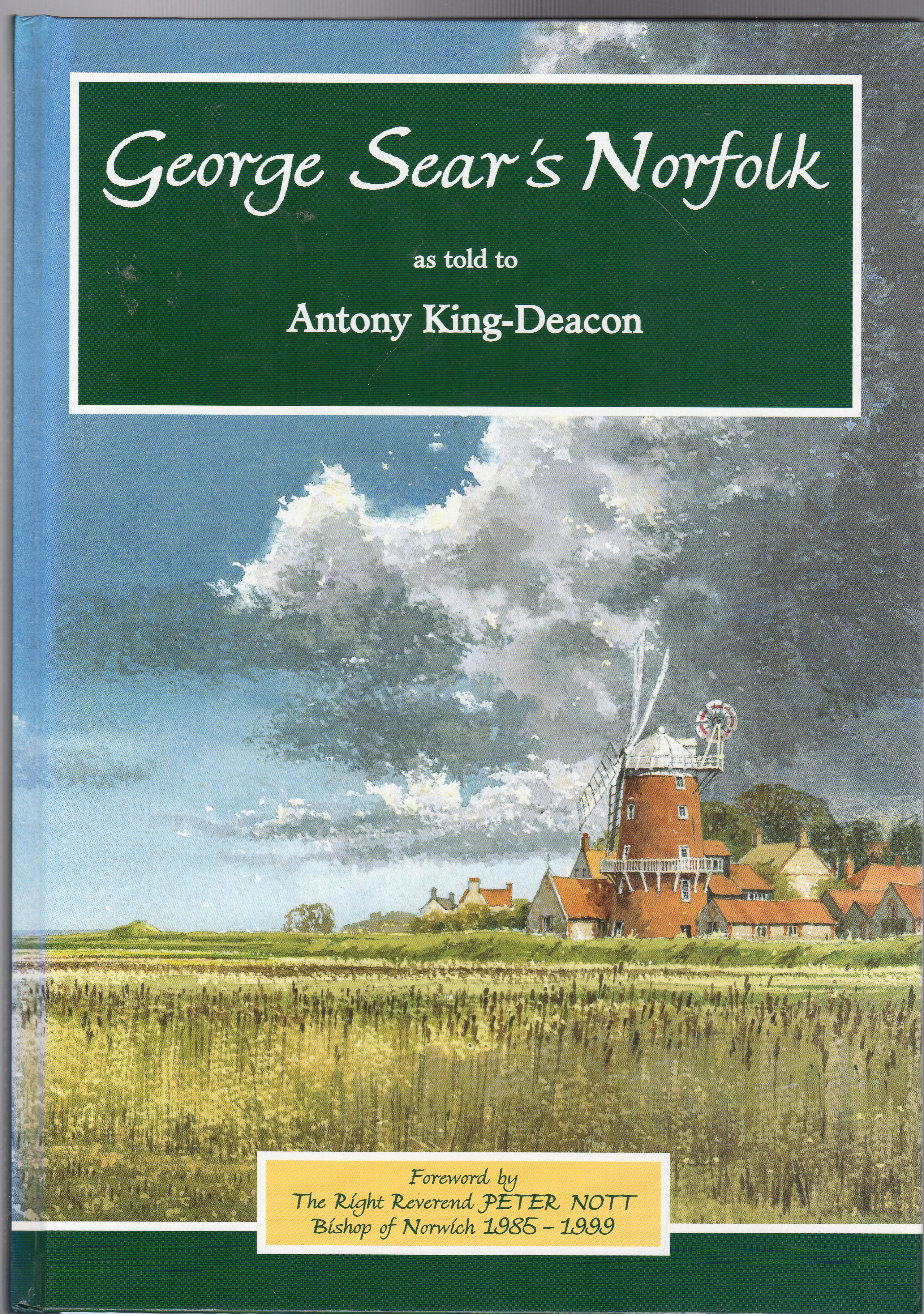 Image for George Sear's Norfolk as told to Antony King-Deacon (SIGNED COPY)