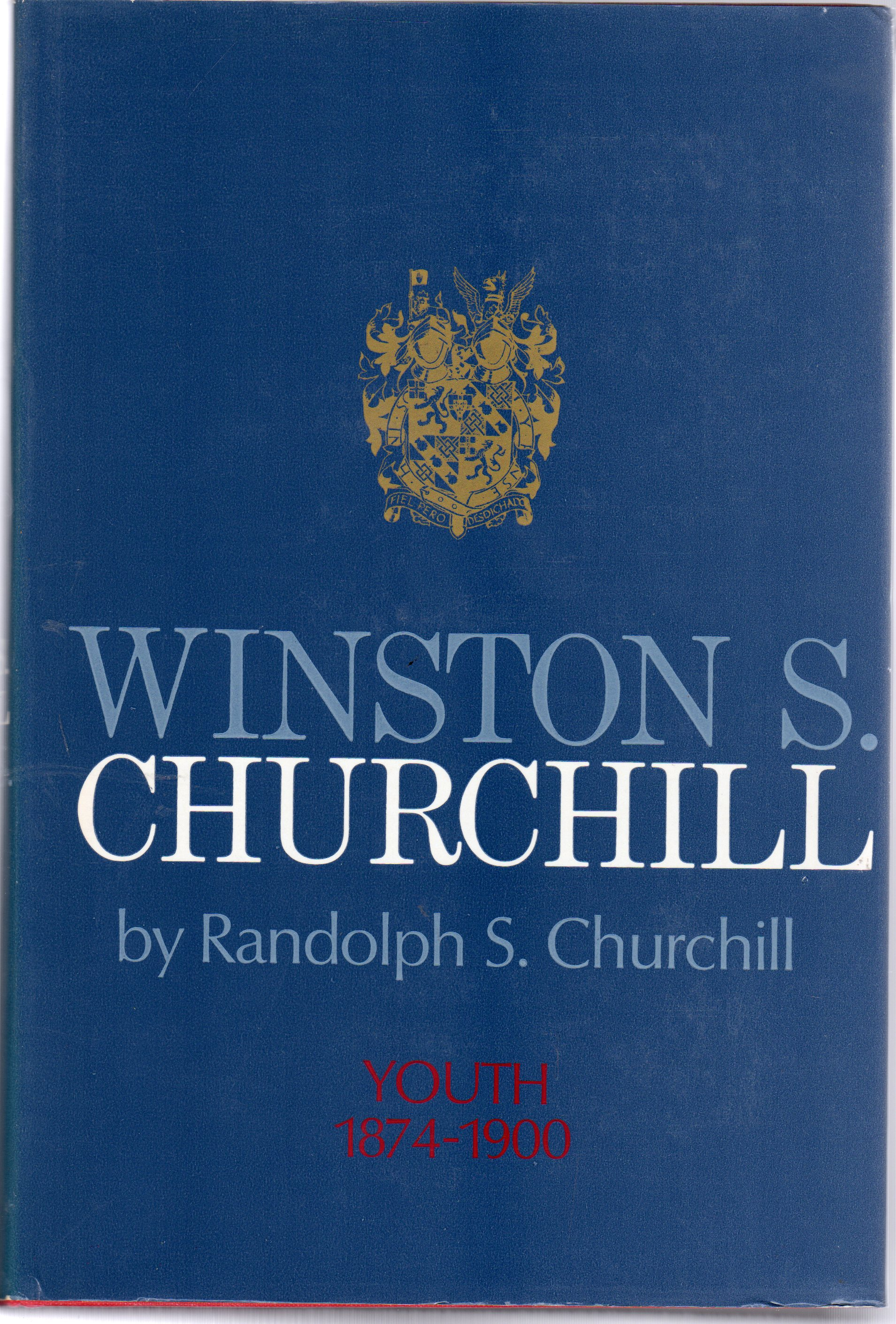 Image for Winston S. Churchill  - Youth 1874-1900