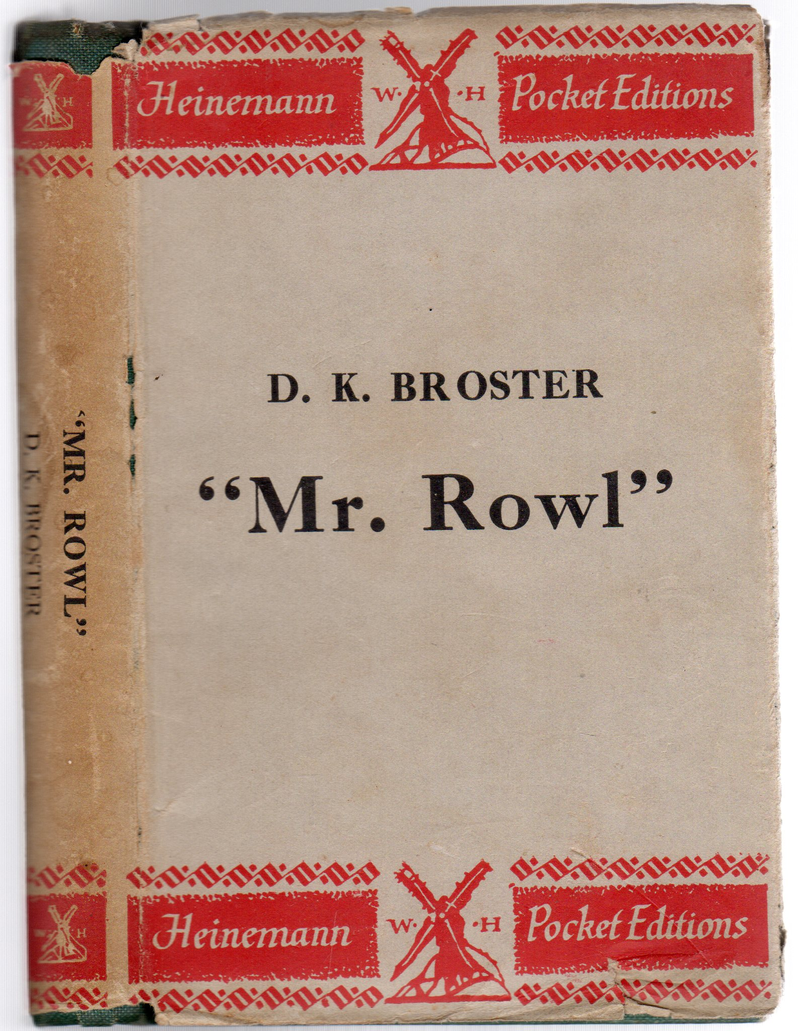 Image for Mr Rowl