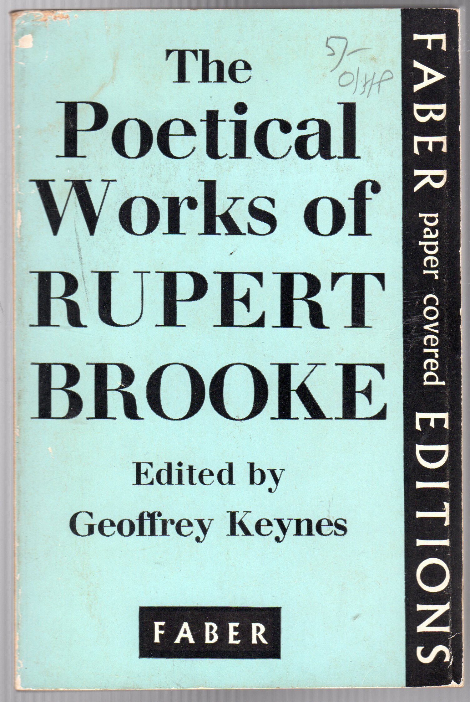 Image for The Poetical Works of Rupert Brooke