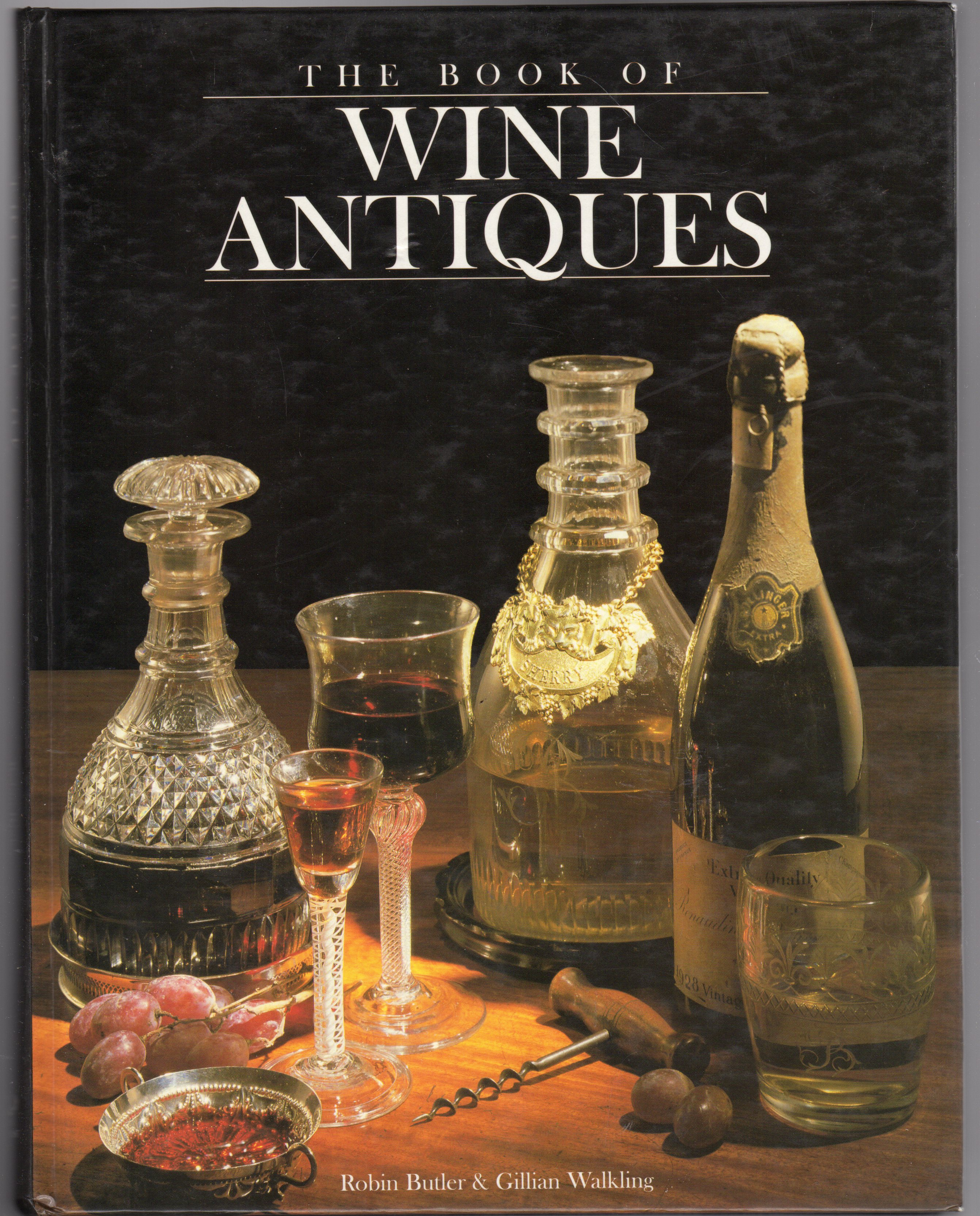 Image for The Book of Wine Antiques