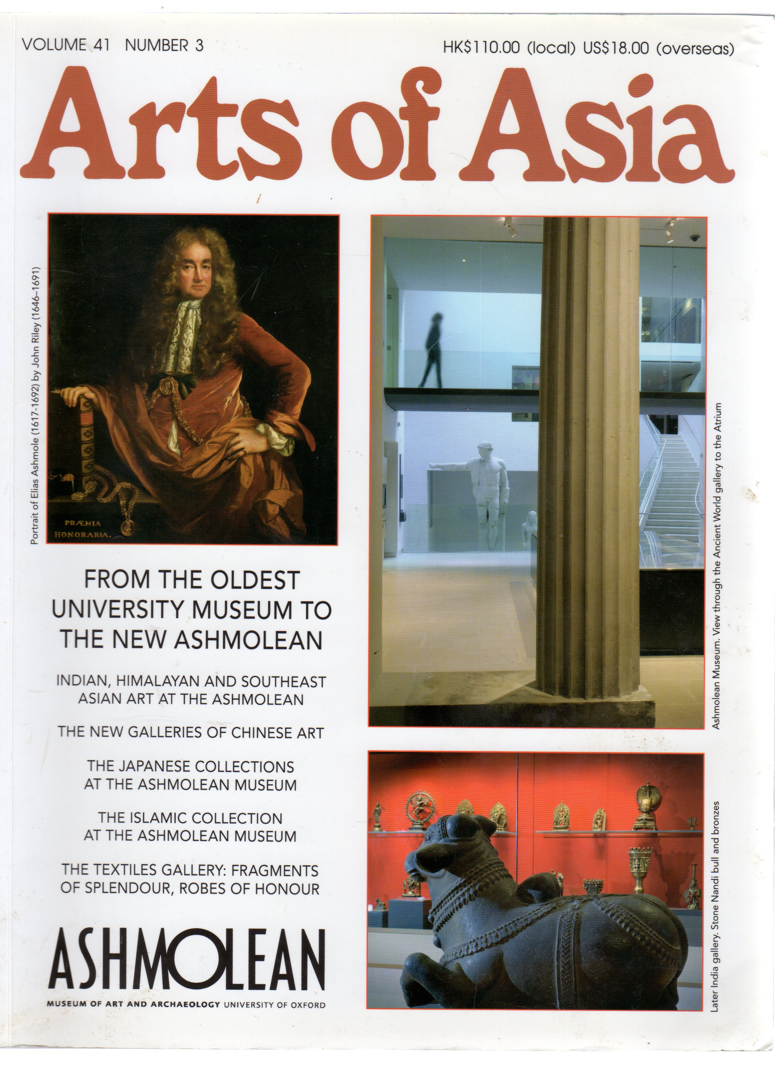 Image for Arts of Asia Vol 41 No 3 2011