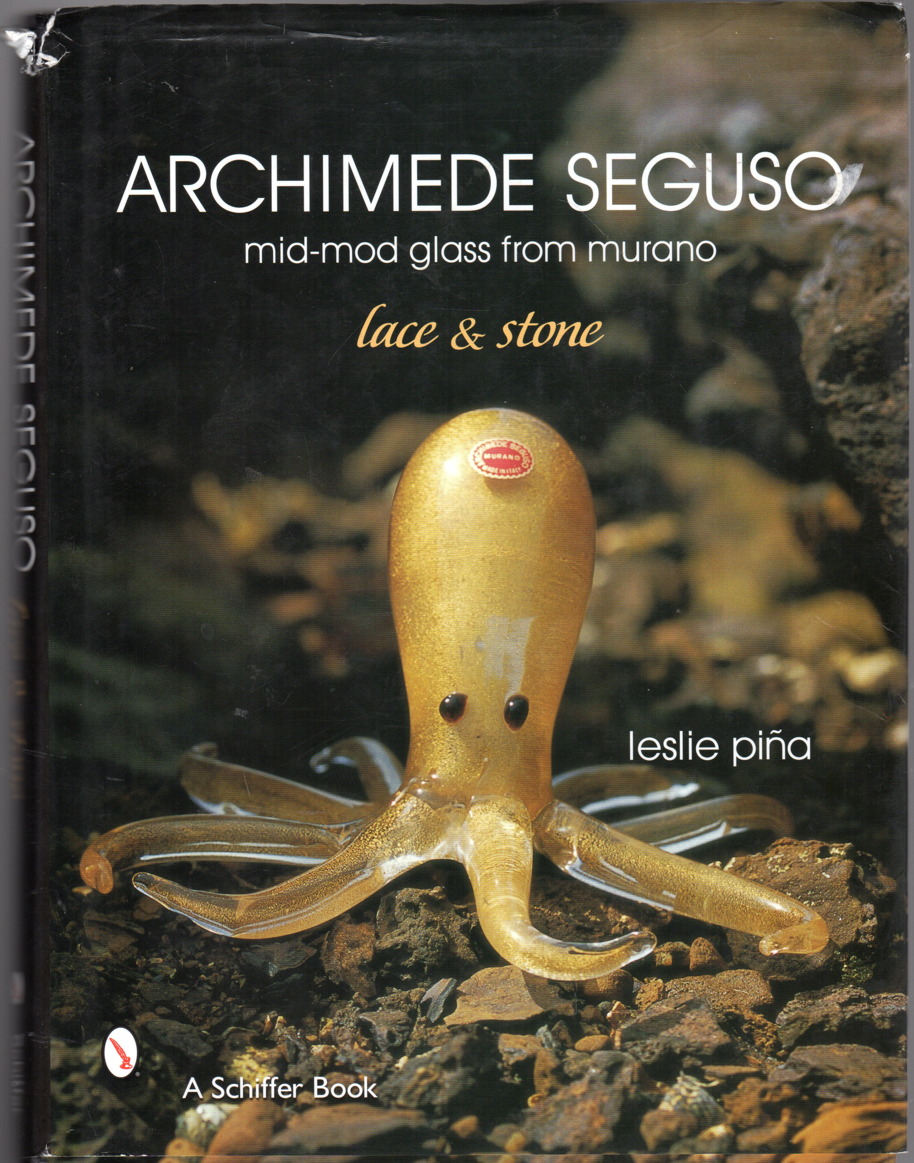 Image for Archimede Seguso : mid-mod glass from Murano : Lace and Stone