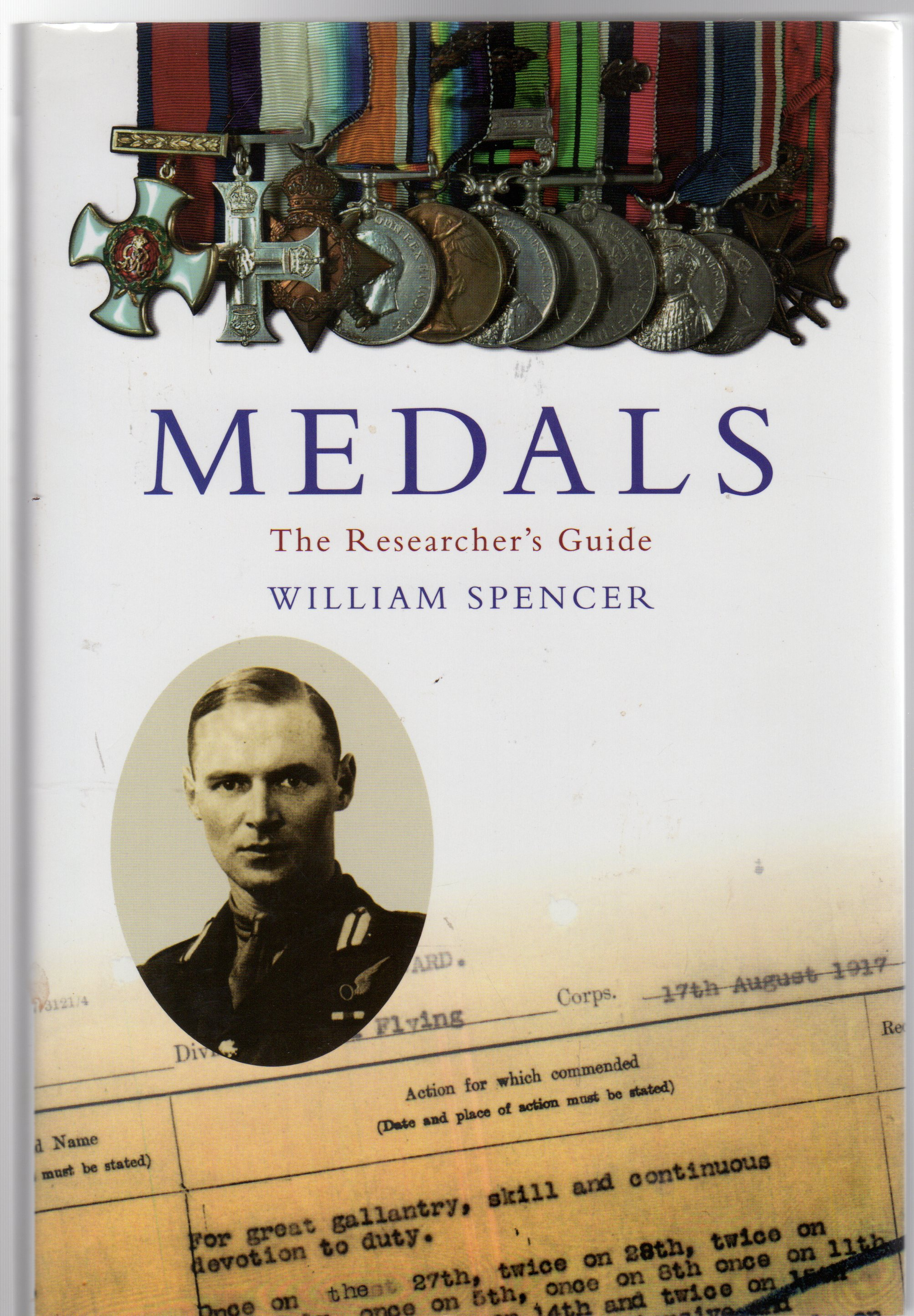 Image for Medals : The Researcher's Guide