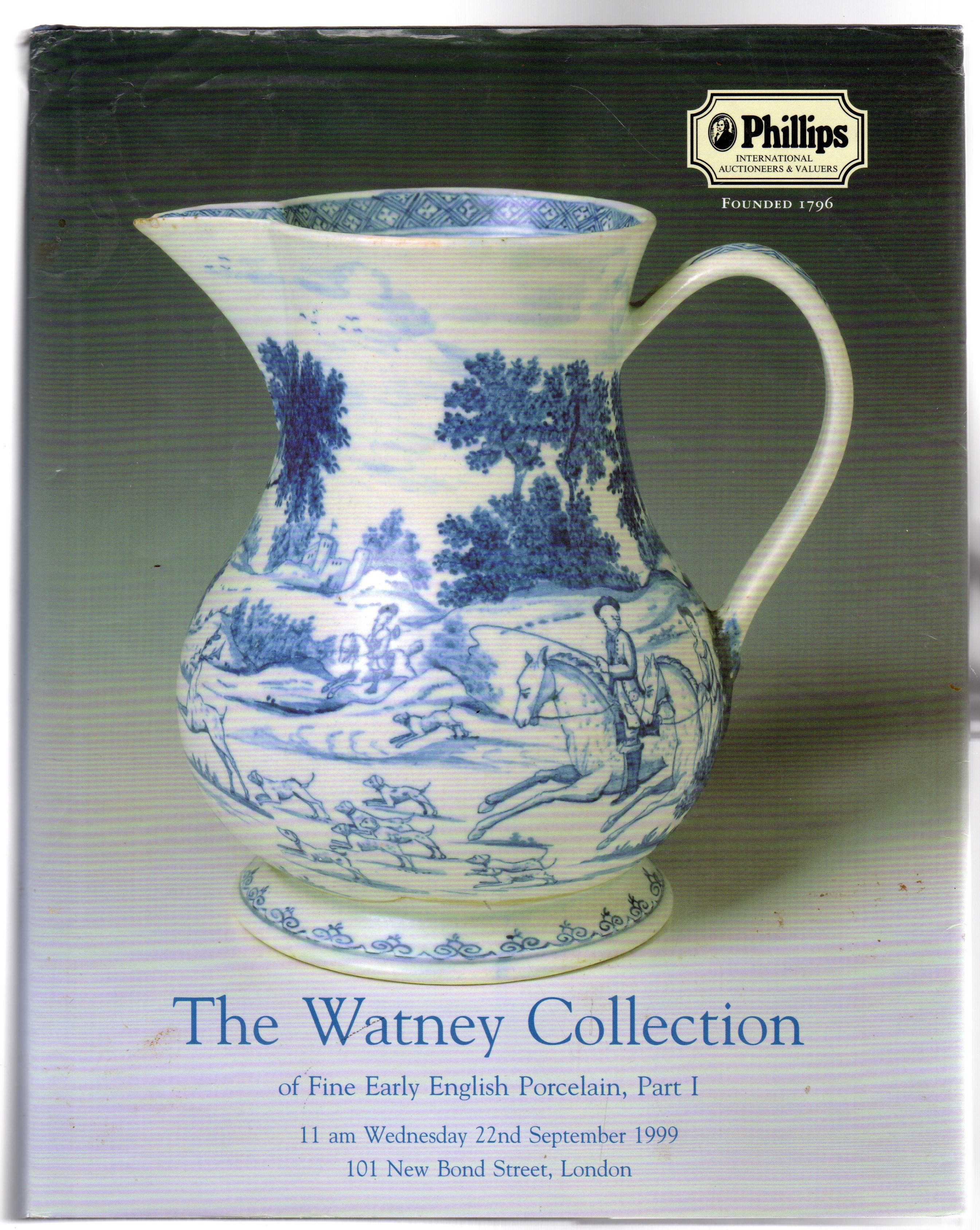Image for The Watney Collection of Fine English Porcelain Part I