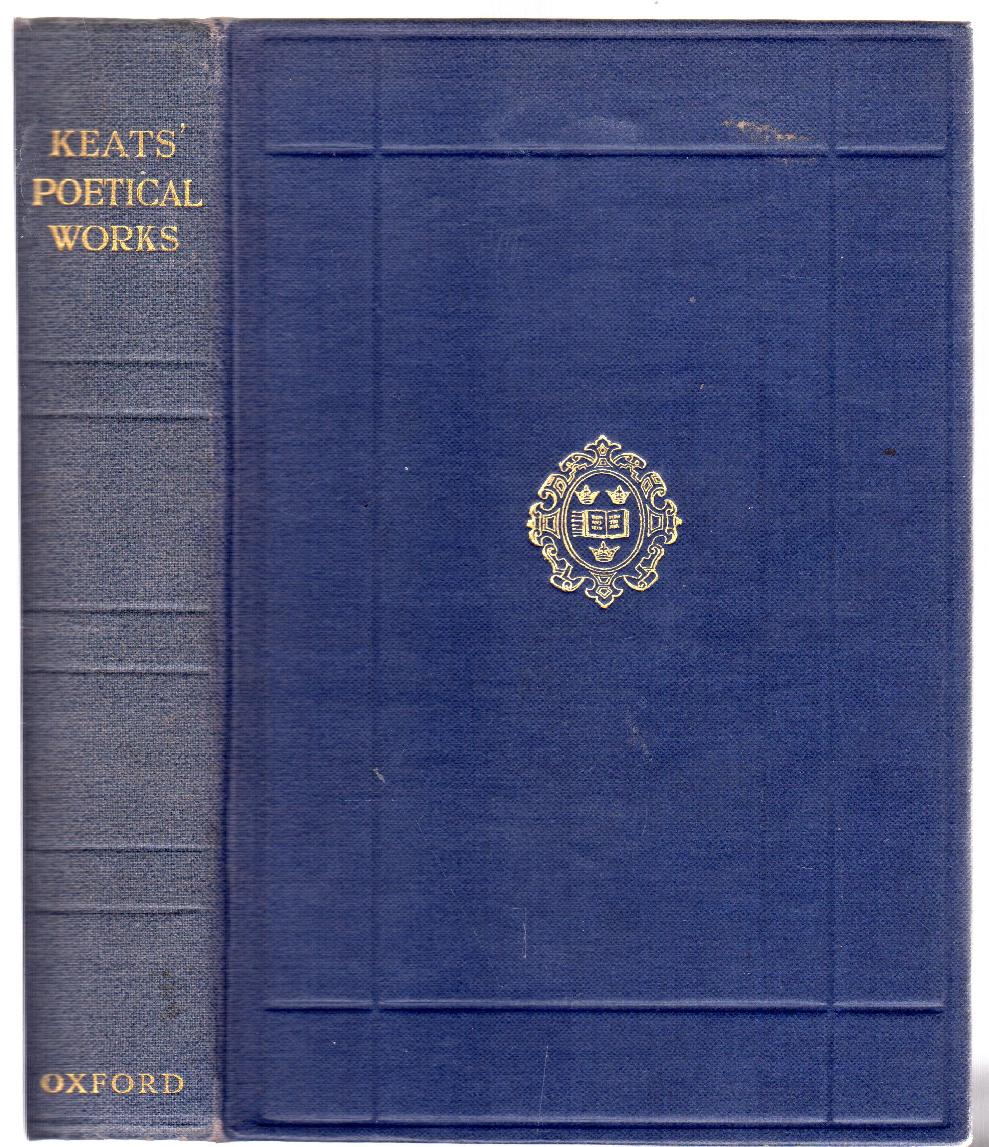 Image for The Poetical Works of John Keats