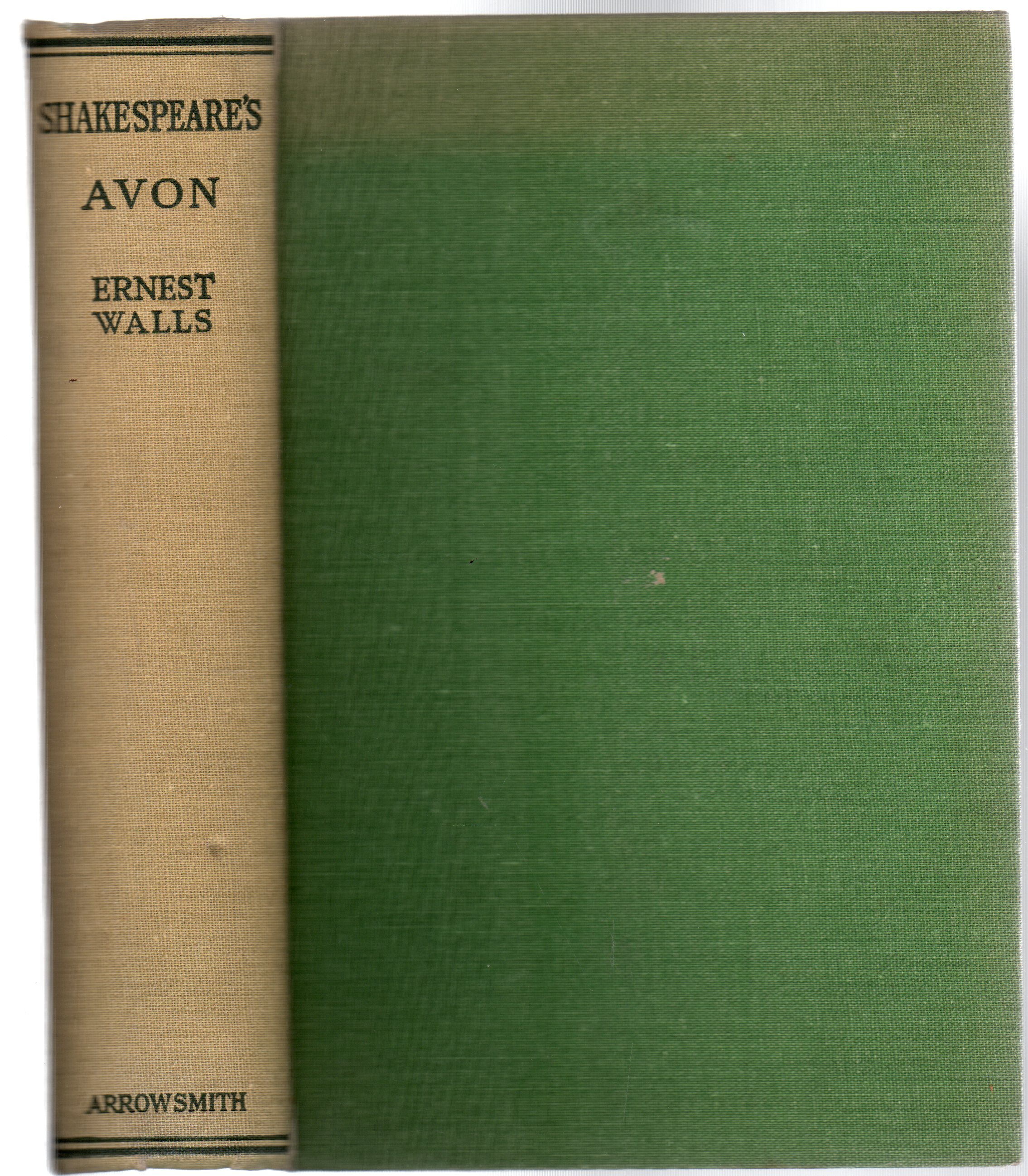 Image for Shakespeare's Avon [The Rivers of England Series]