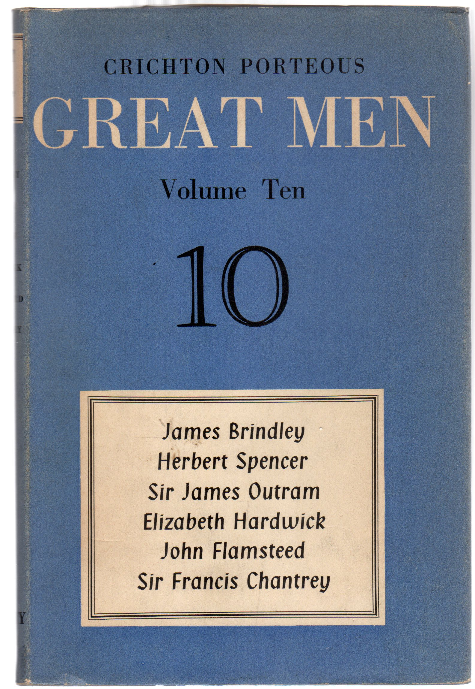 Image for Great Men : Volume Ten