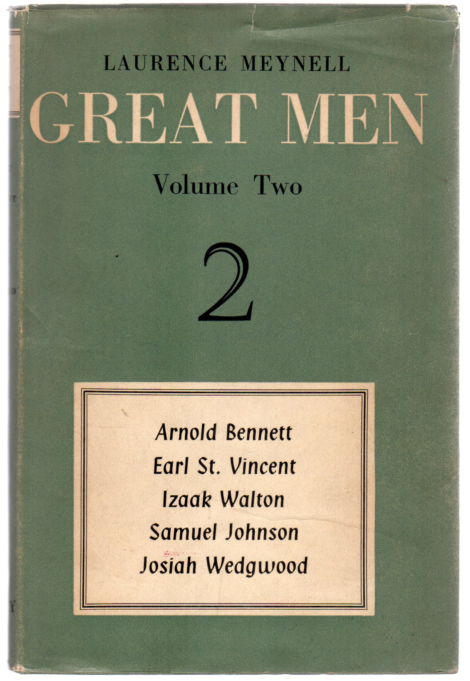 Image for Great Men : Volume Two