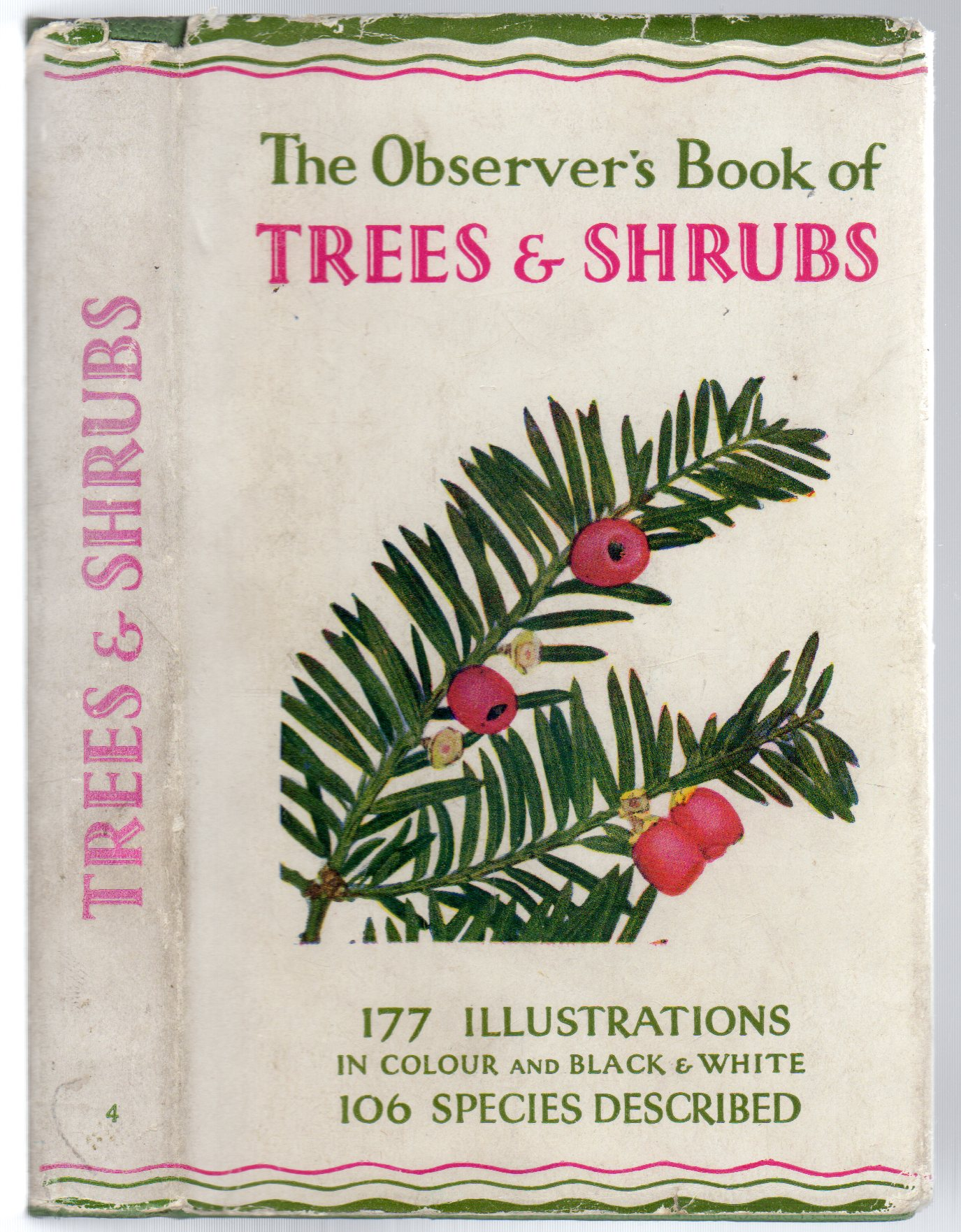 Image for The Observer's Book of Trees & Shrubs