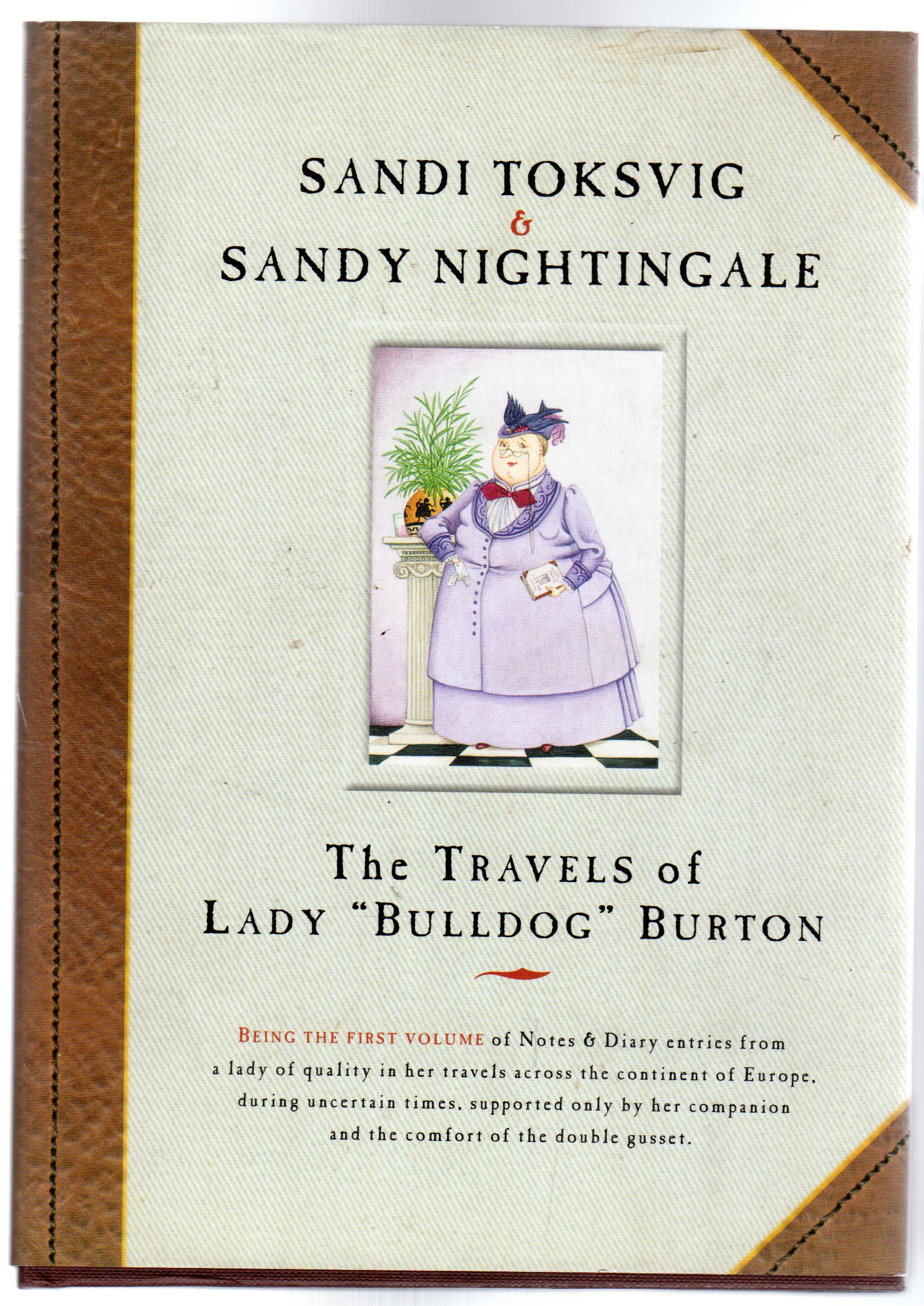 Image for The Travels Of Lady Bulldog Burton (SIGNED COPY)