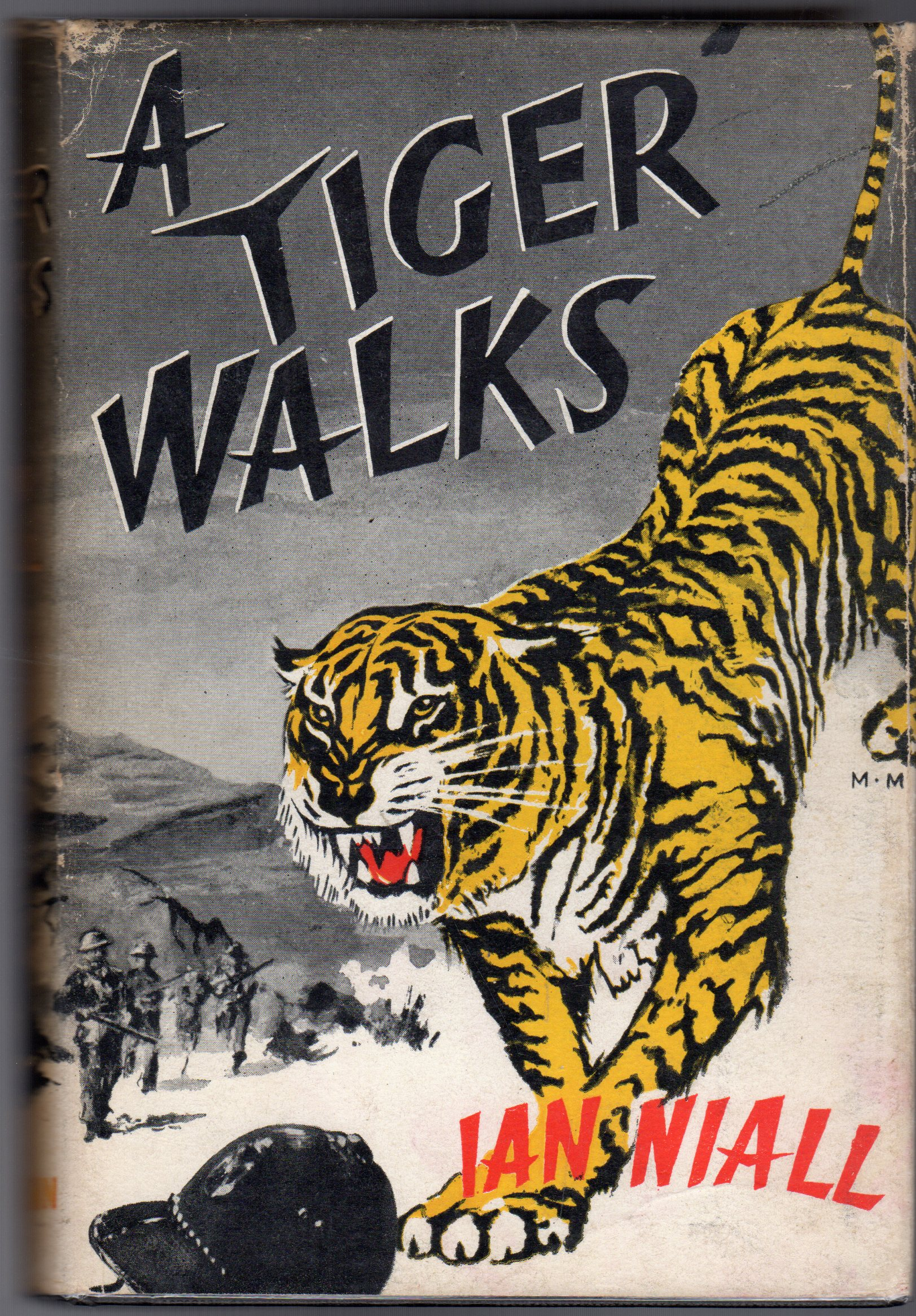 Image for A Tiger Walks