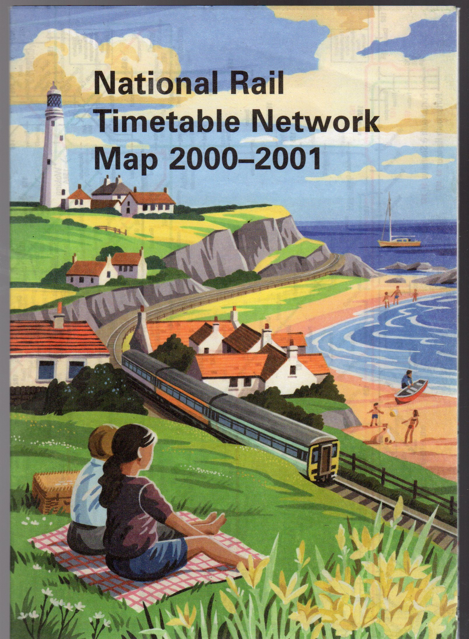 Image for National Rail Timetable Network Map 2000 - 2001