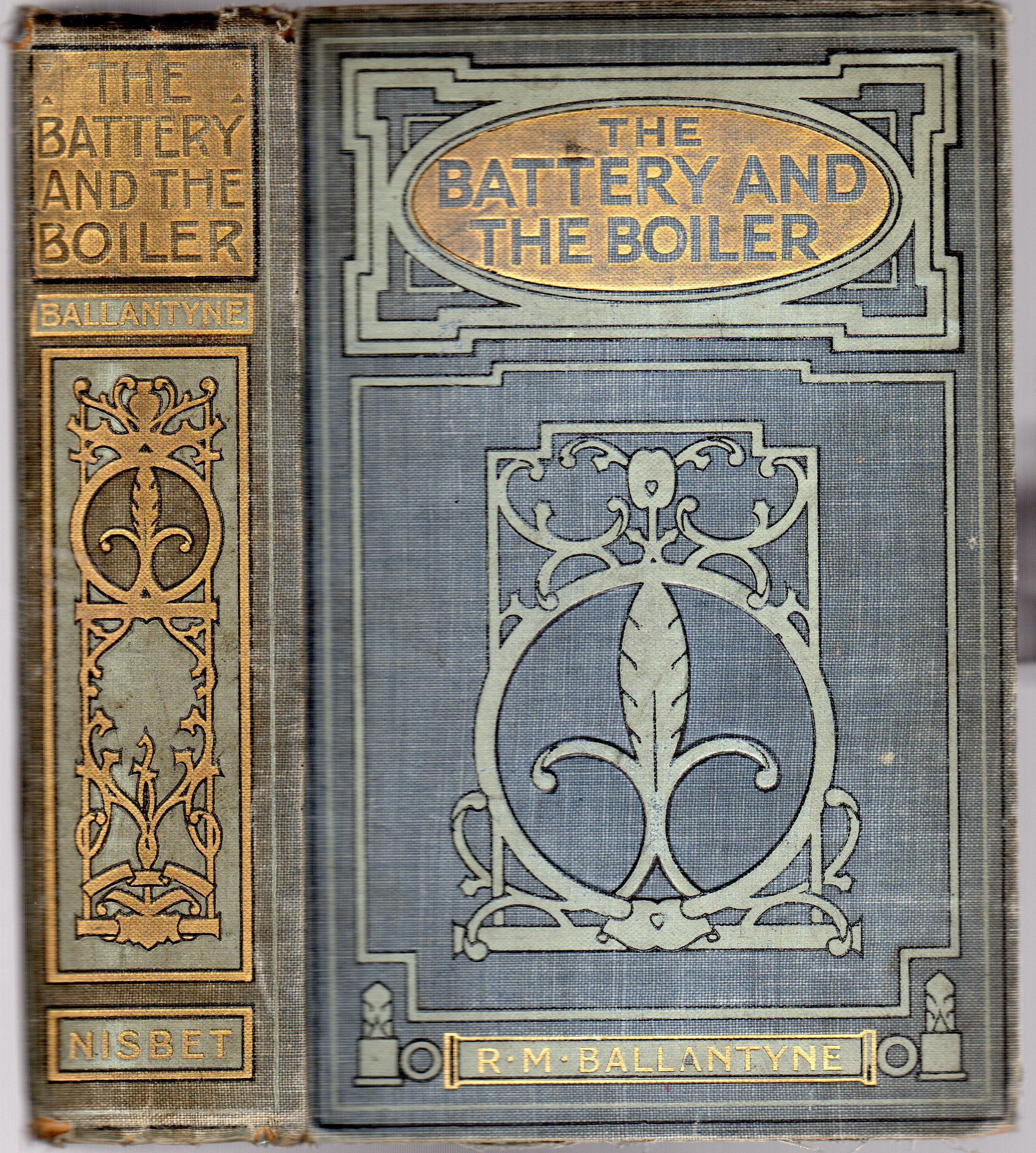 Image for The Battery and the Boiler