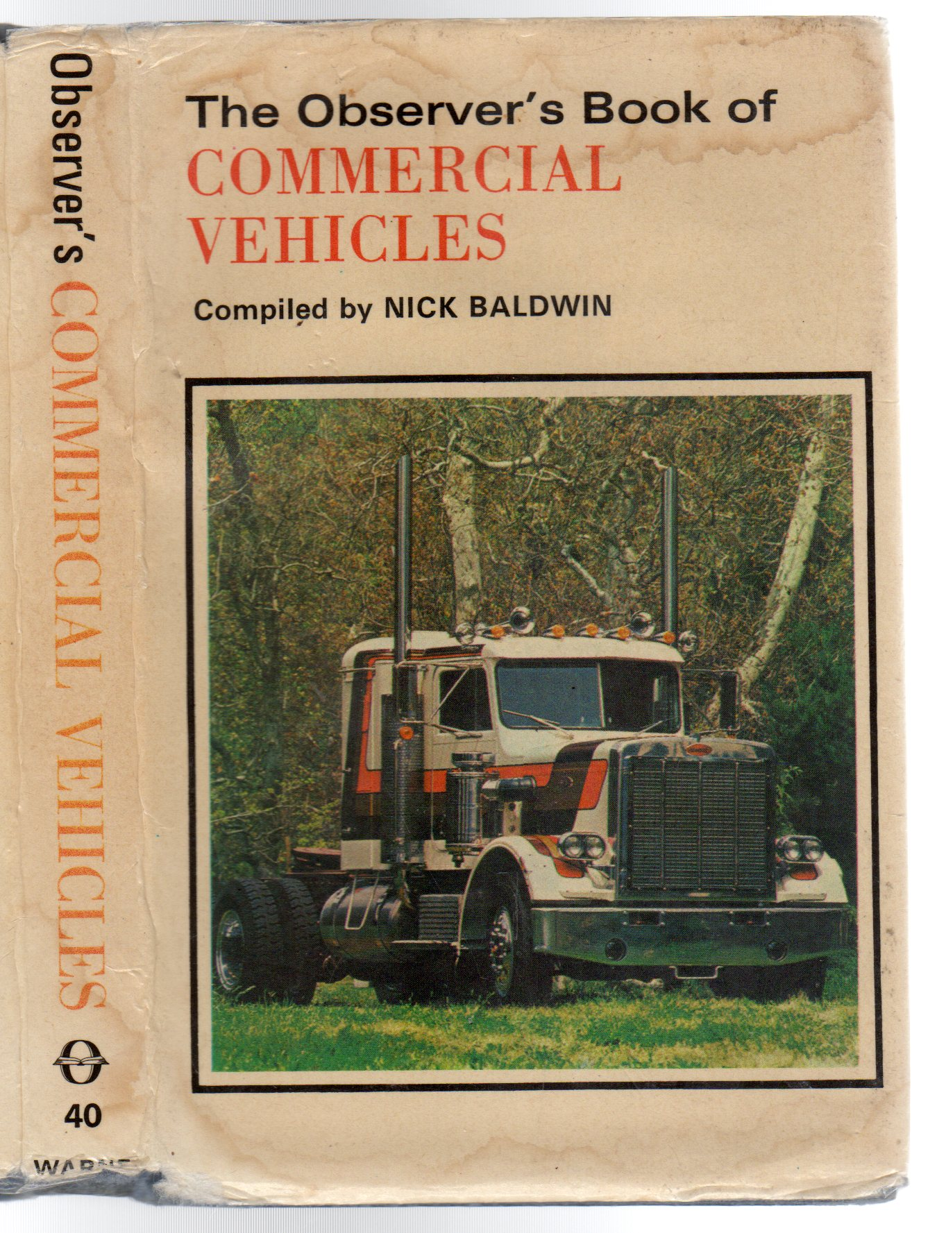 Image for The Observer's Book of Commercial Vehicles