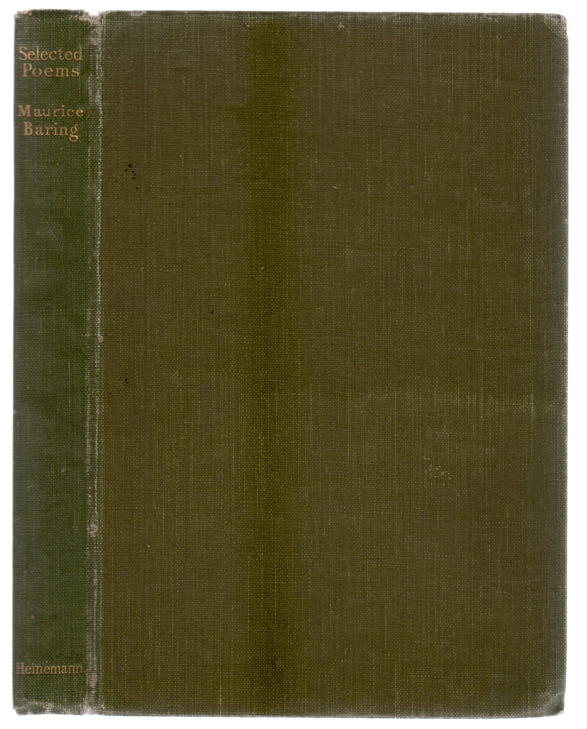 Image for Selected Poems of Maurice Baring