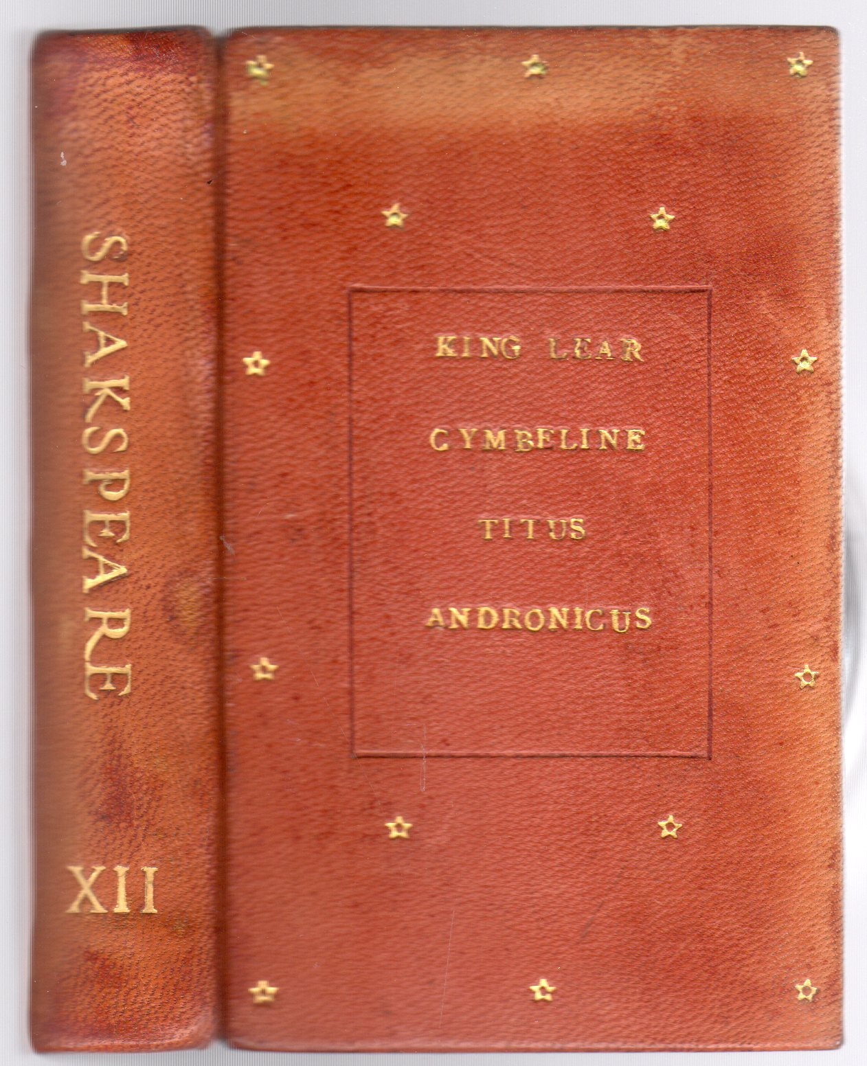 Image for The Handy-Volume Shakspeare. Vol. XII King Lear, Cymbeline, Titus Andronicus