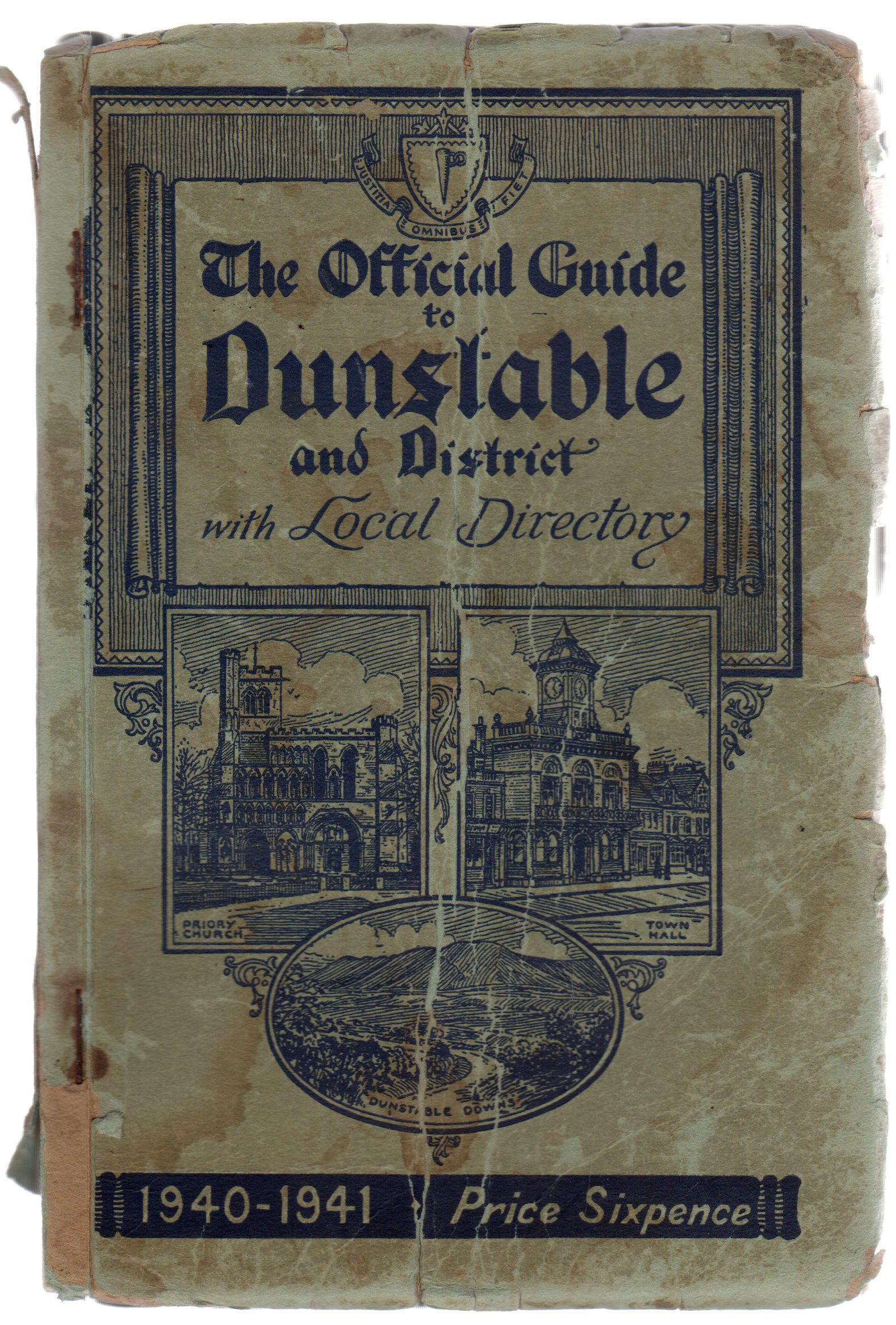 Image for The Official Guide to Dunstable and District with Local Directory  : 1940-1941