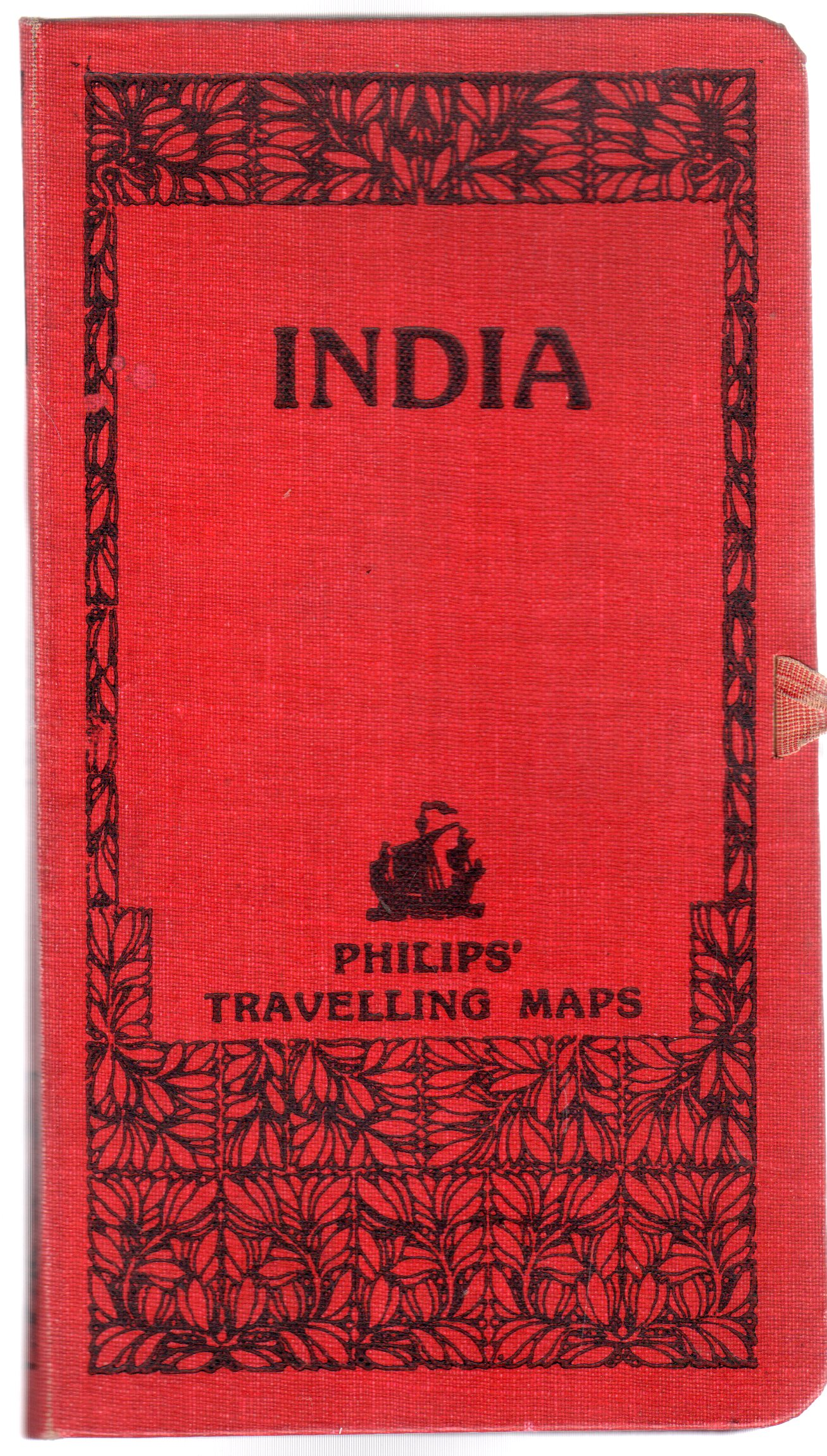 Image for India - Philips' Travelling Maps