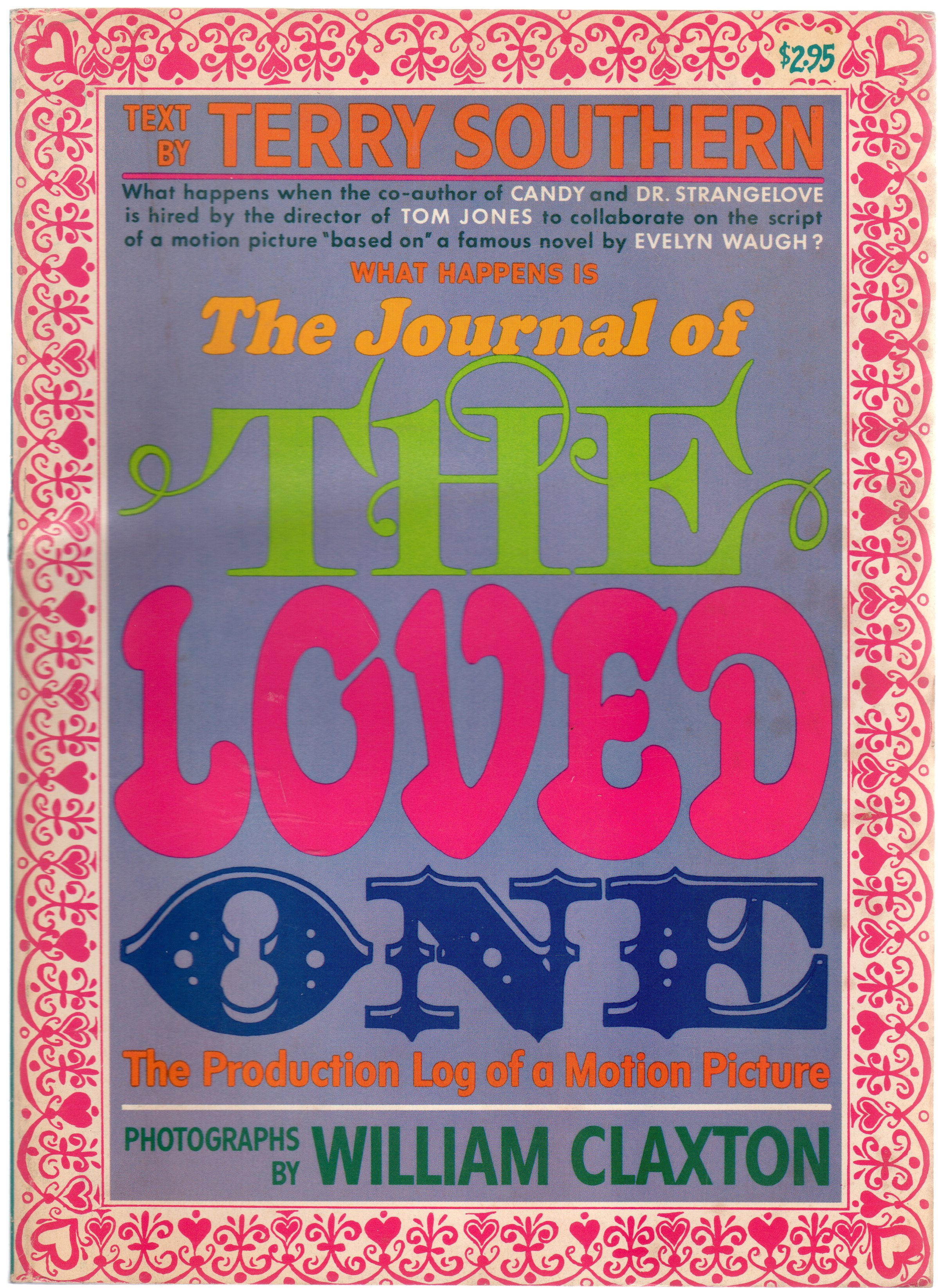 Image for The Journal of the Loved One : The Production Log of a Motion Picture