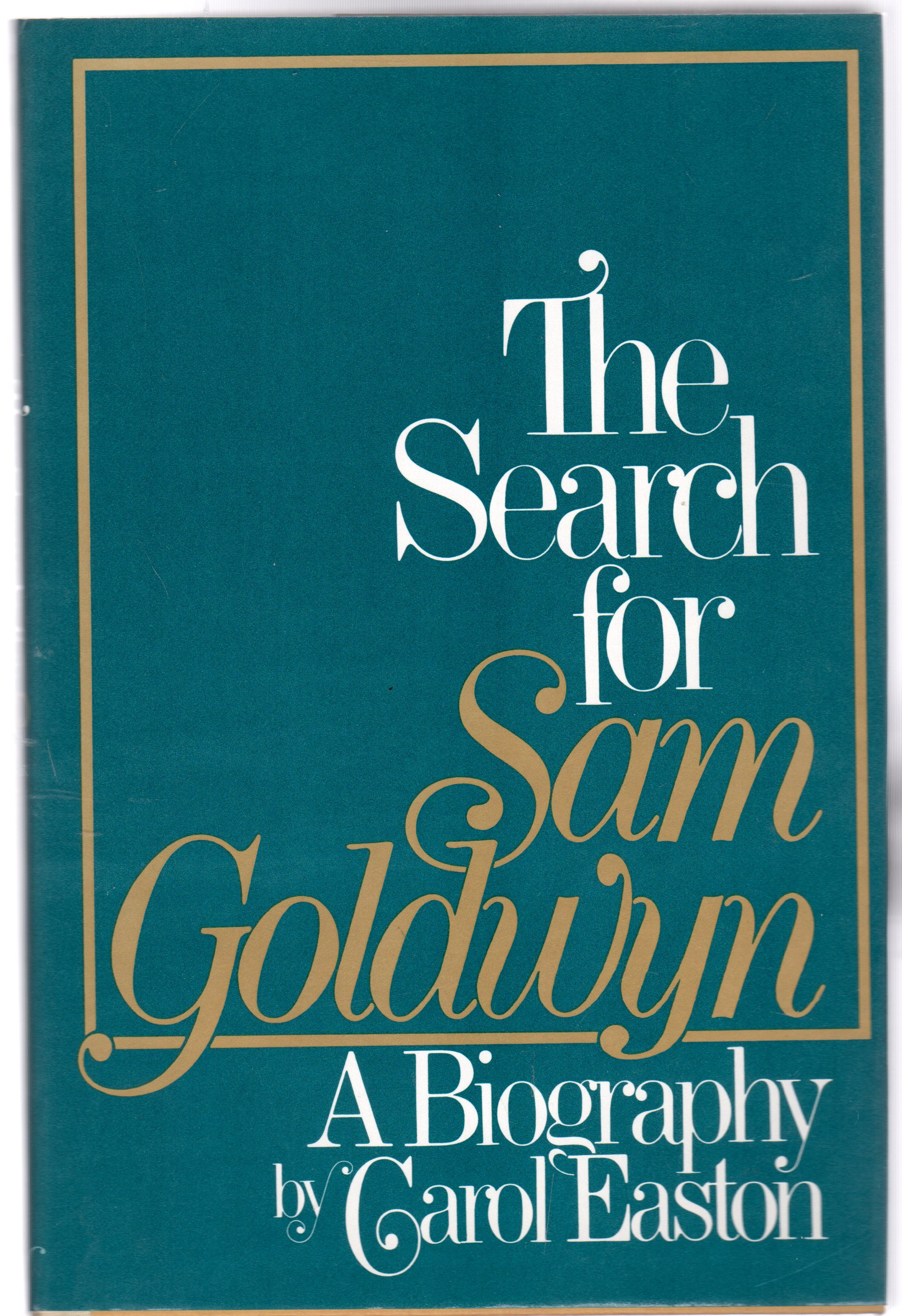 Image for The Search for Sam Goldwyn: A Biography
