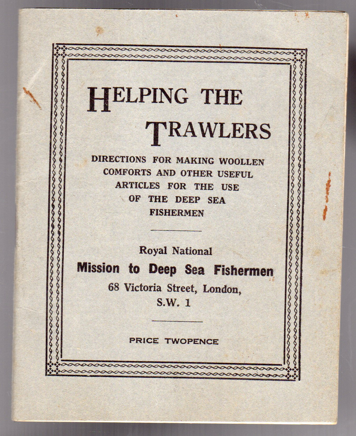 Image for Helping the Trawlers
