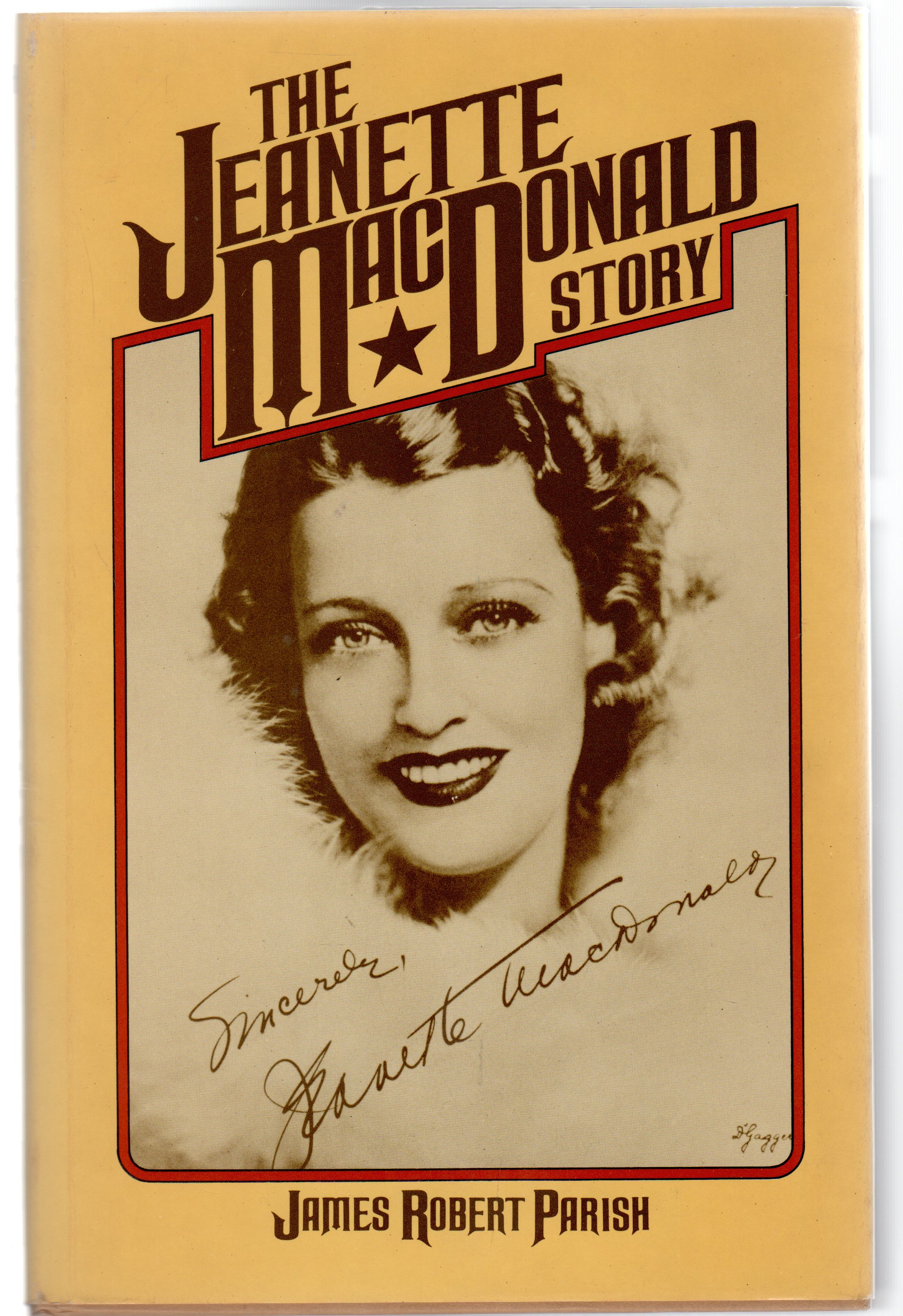 Image for The Jeanette MacDonald Story