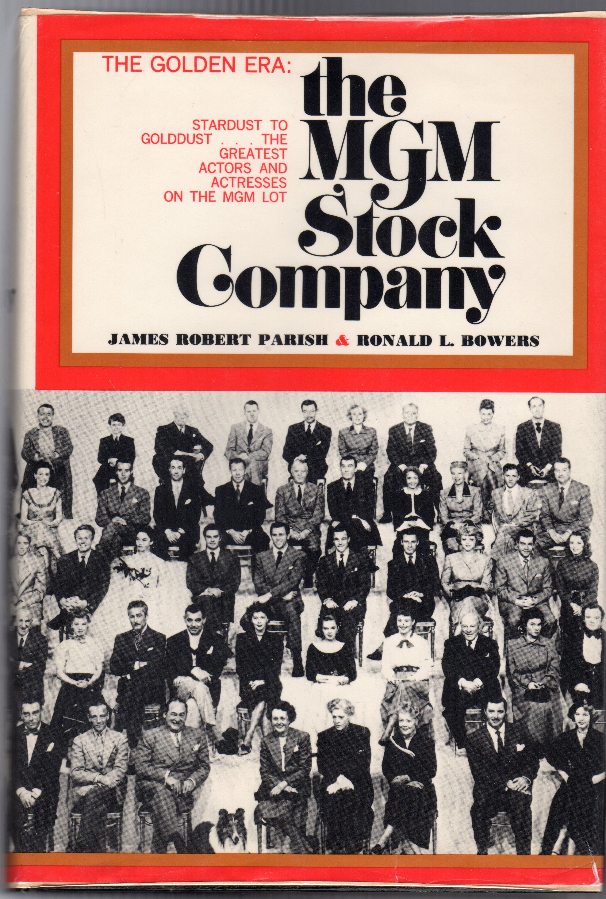 Image for The MGM Stock Company : The Golden Era