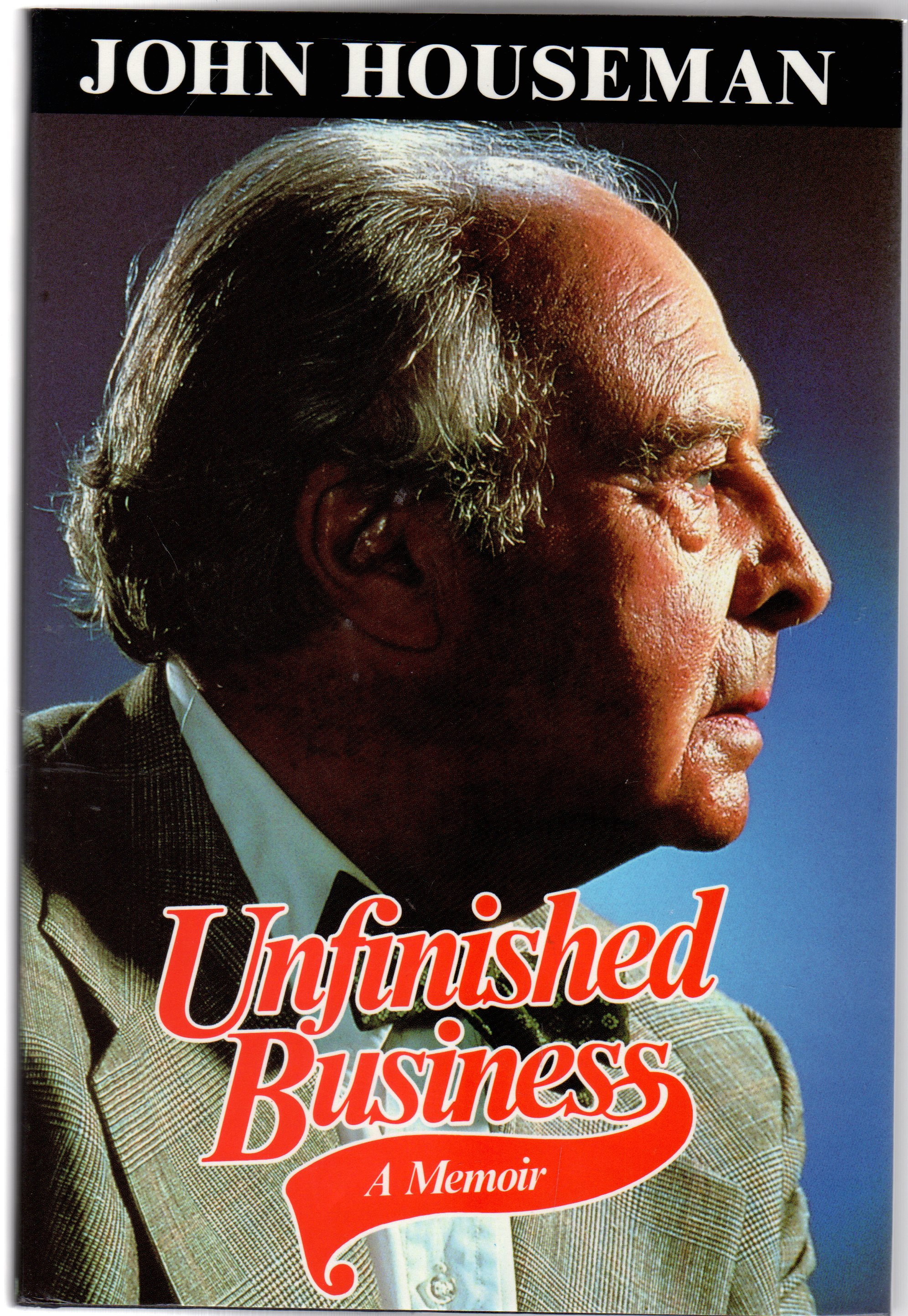 Image for Unfinished Business : A Memoir