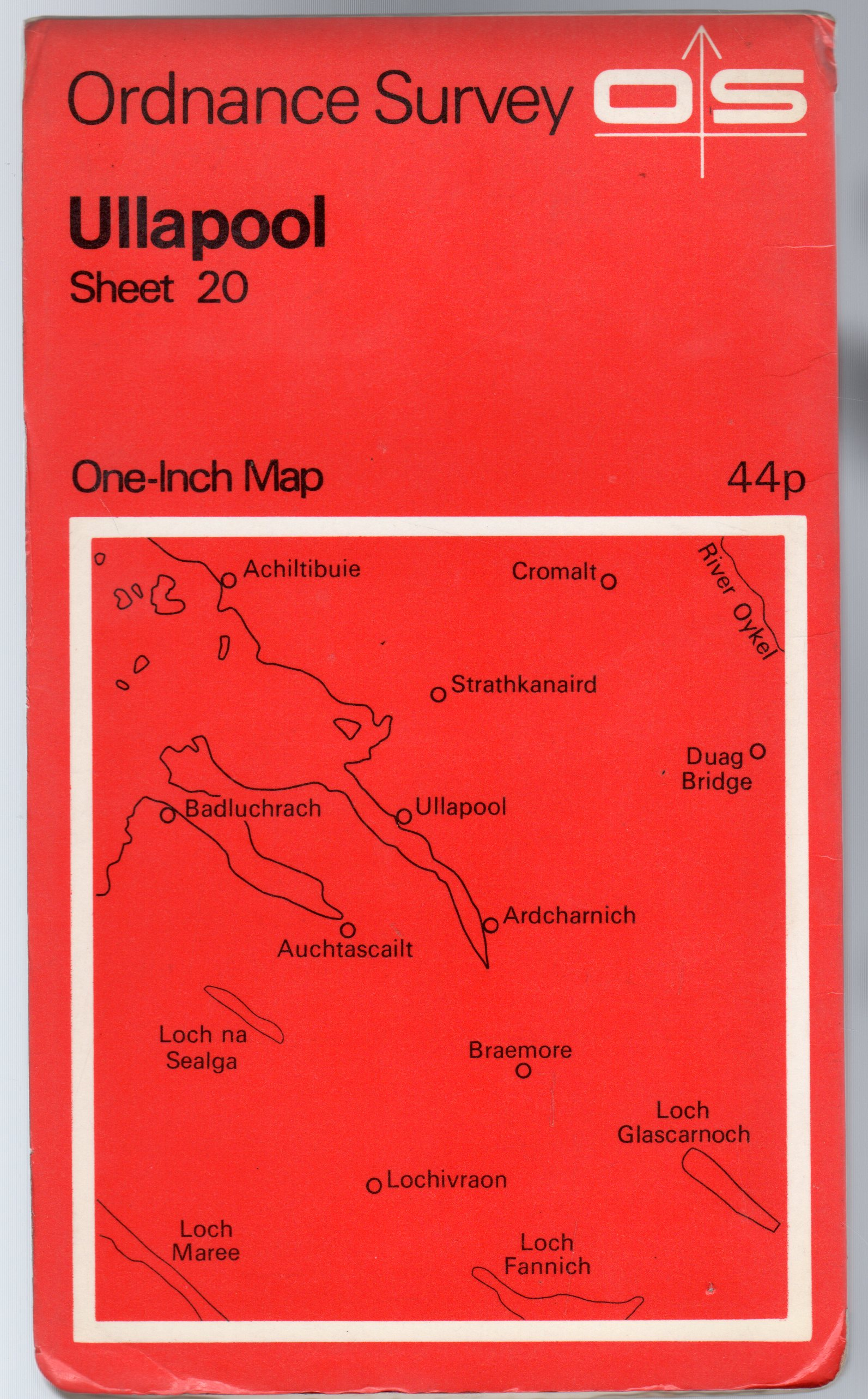 Image for Ordnance Survey  One-Inch Series - Ullapool Sheet 20