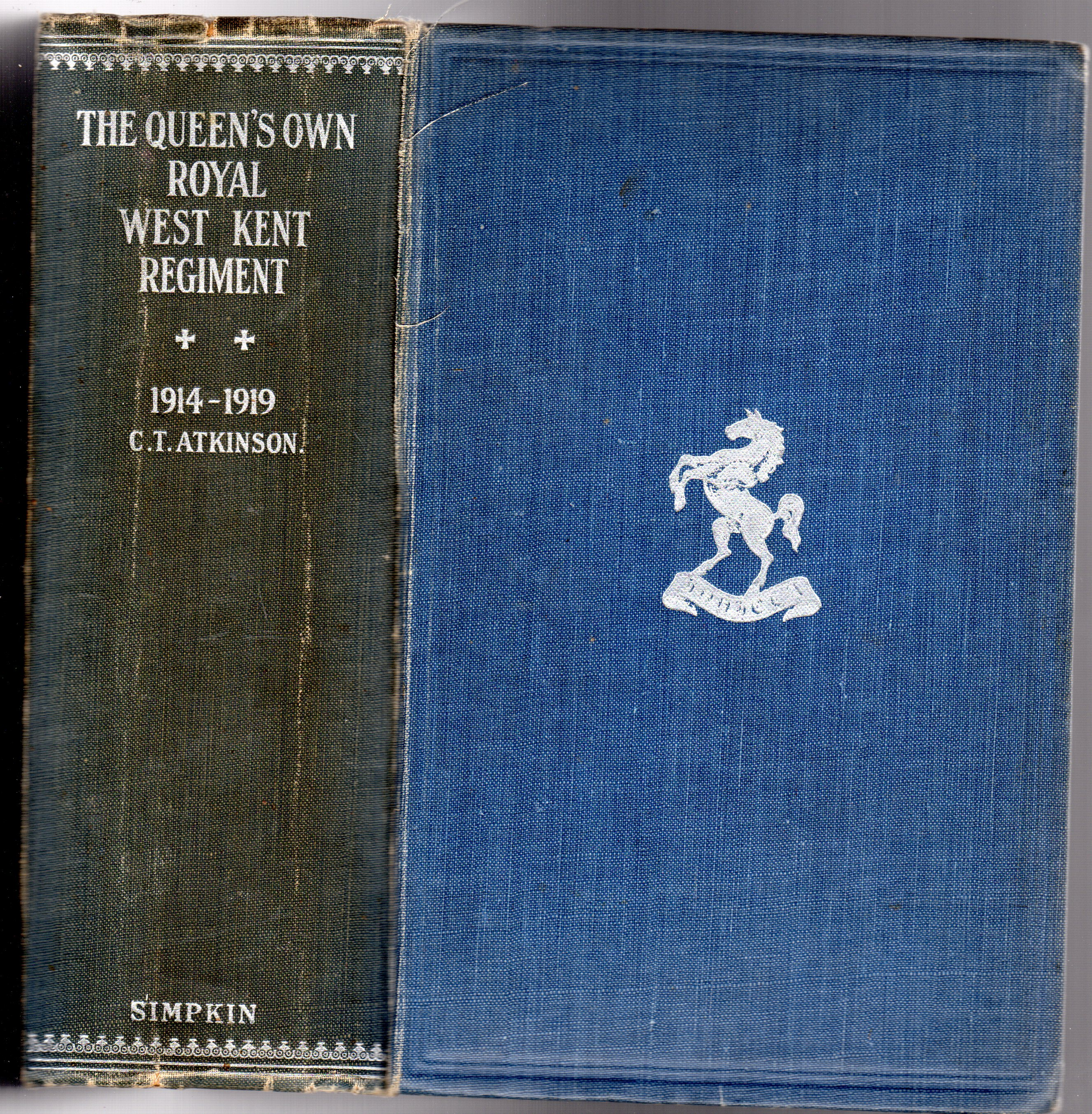Image for The Queen's Own Royal West Kent Regiment 1914-1919