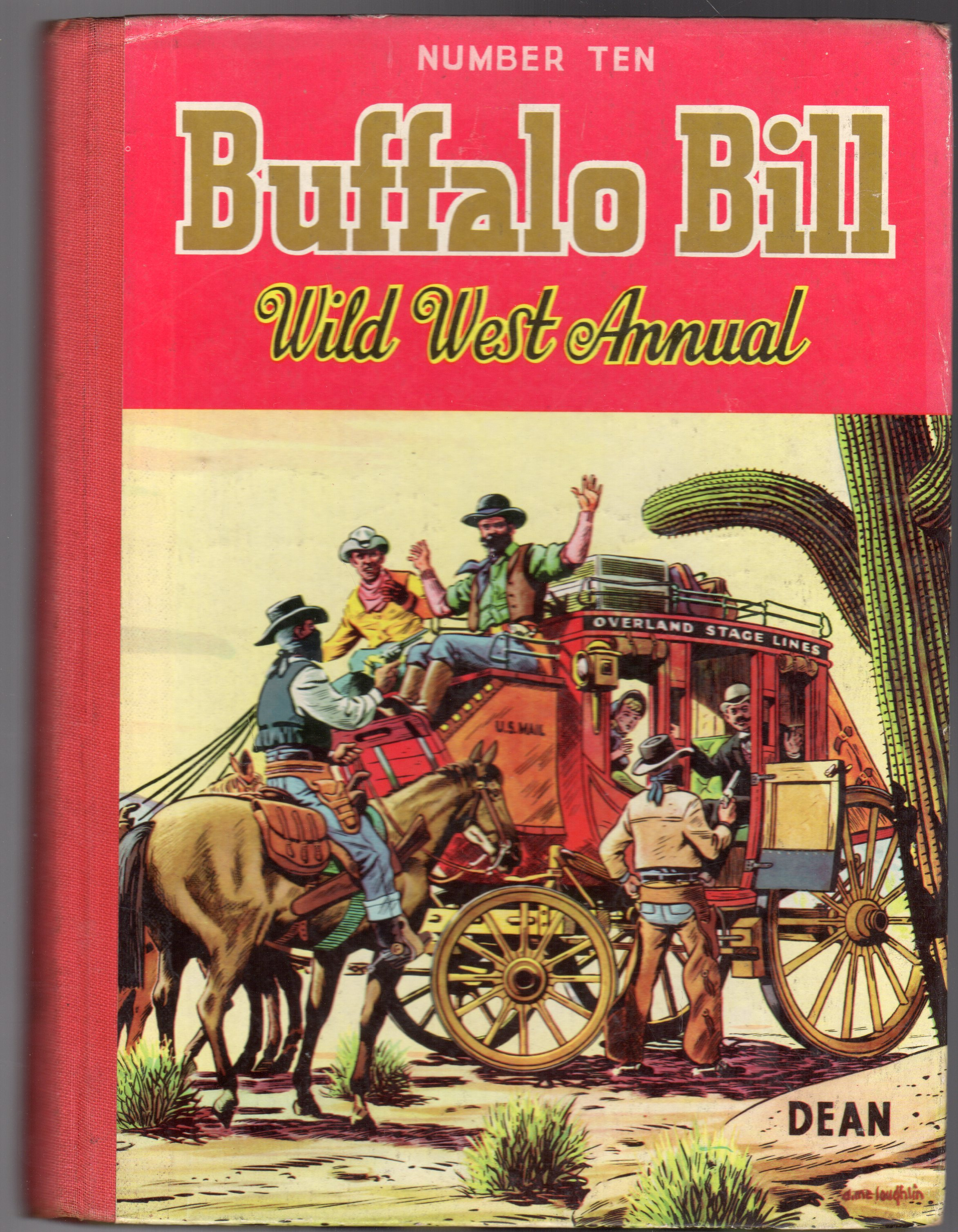 Image for Buffalo Bill Wild West Annual No 10