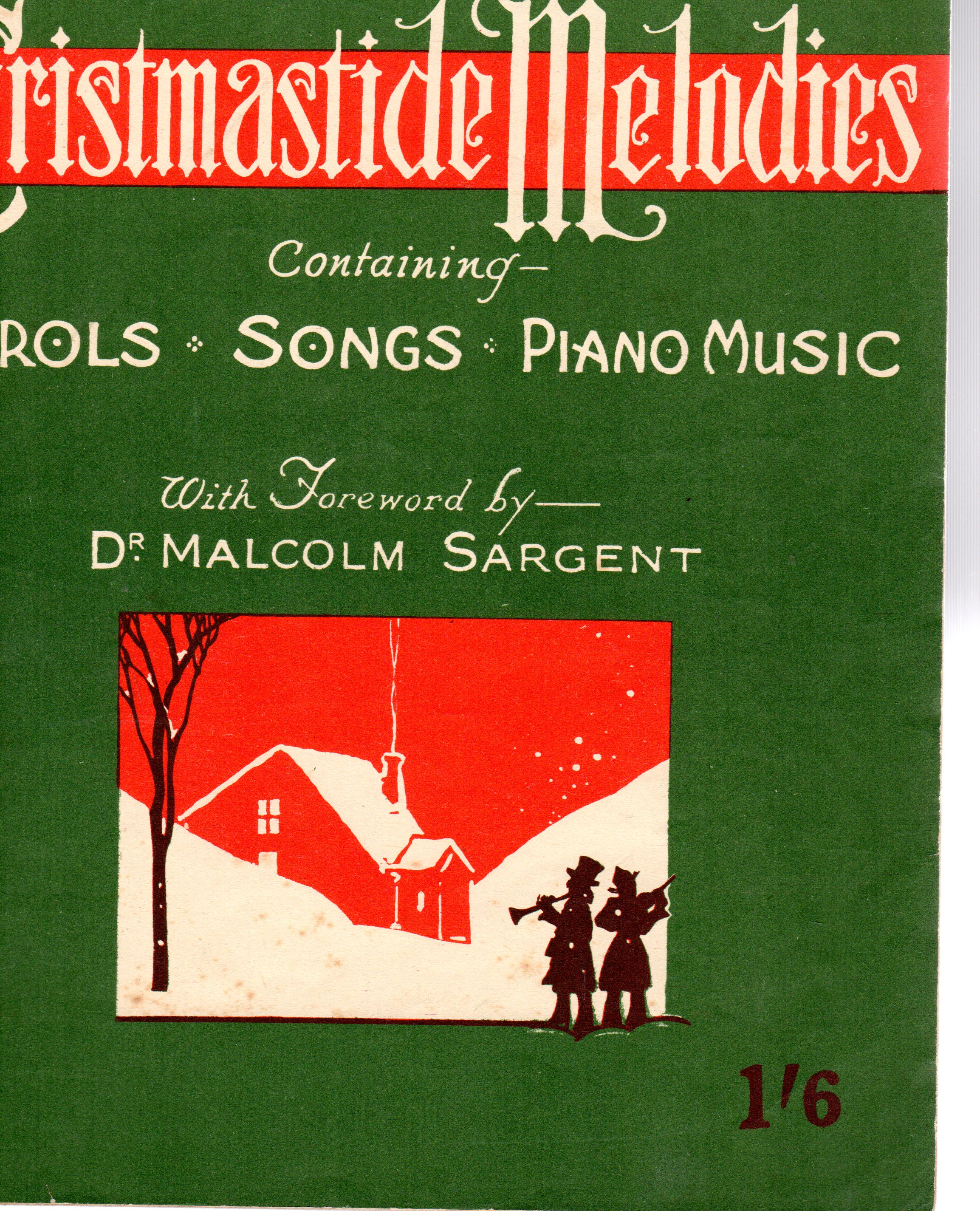Image for News Chronicle - Christmastide Melodies - Containing Carols Songs Piano Music