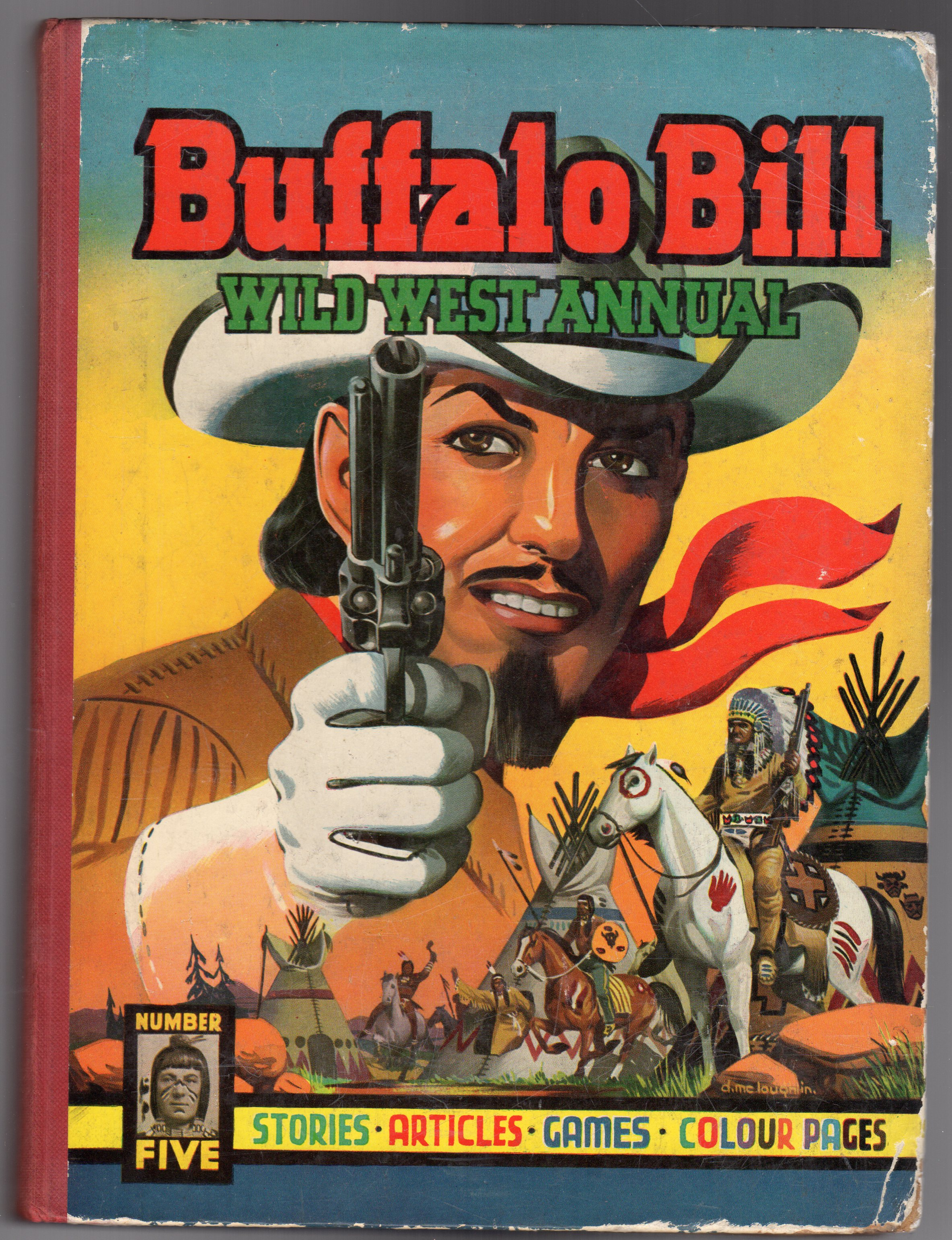 Image for Buffalo Bill Wild West Annual No 5 1953
