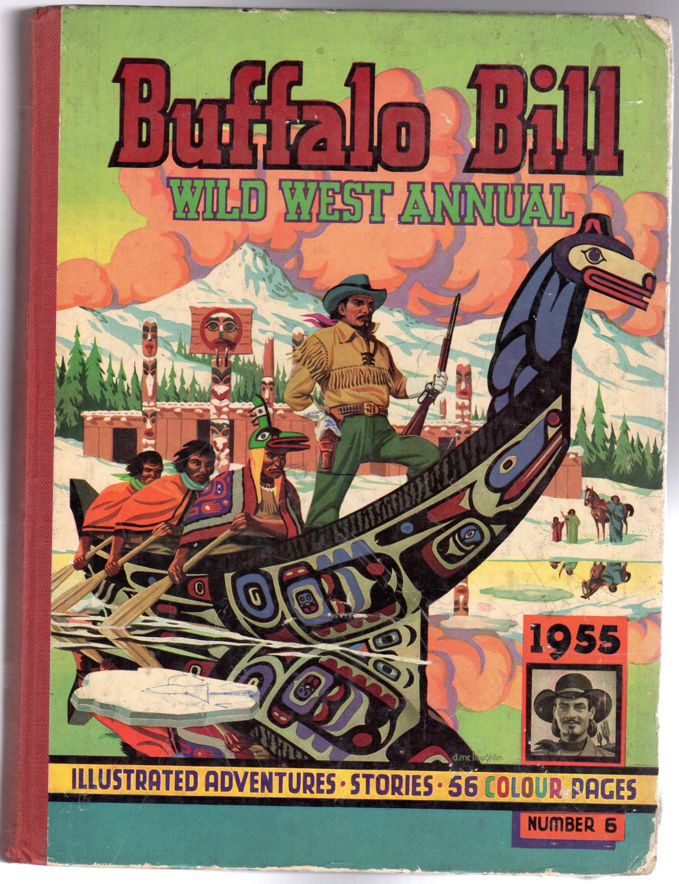 Image for Buffalo Bill Wild West Annual No 6 1954